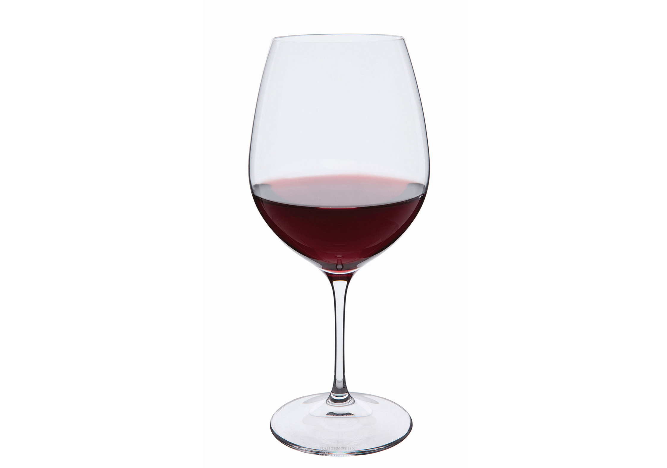 Medium sized red wine glass