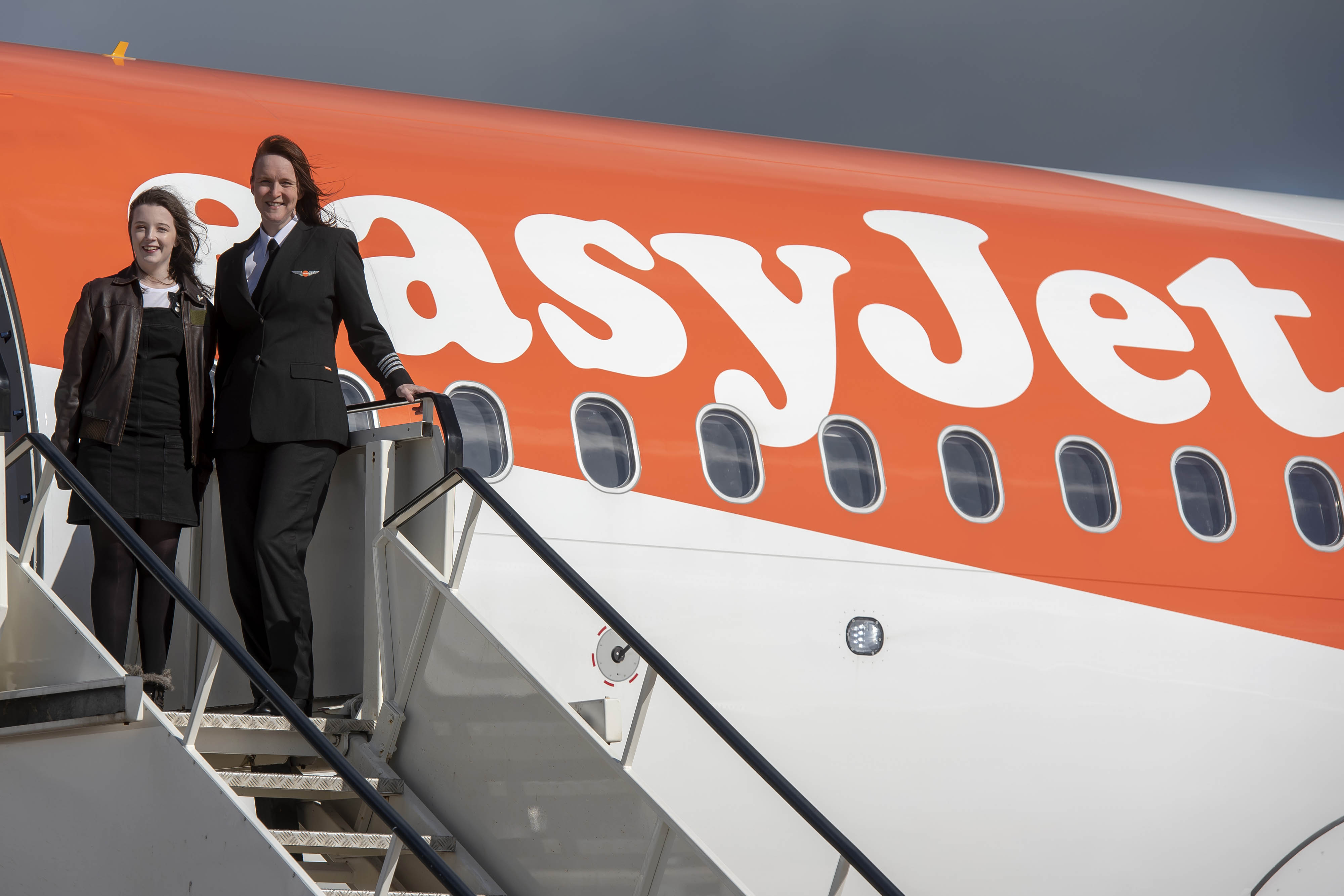 EasyJet is aiming to increase the proportion of its new pilots who are female (Neil Munns/PA)