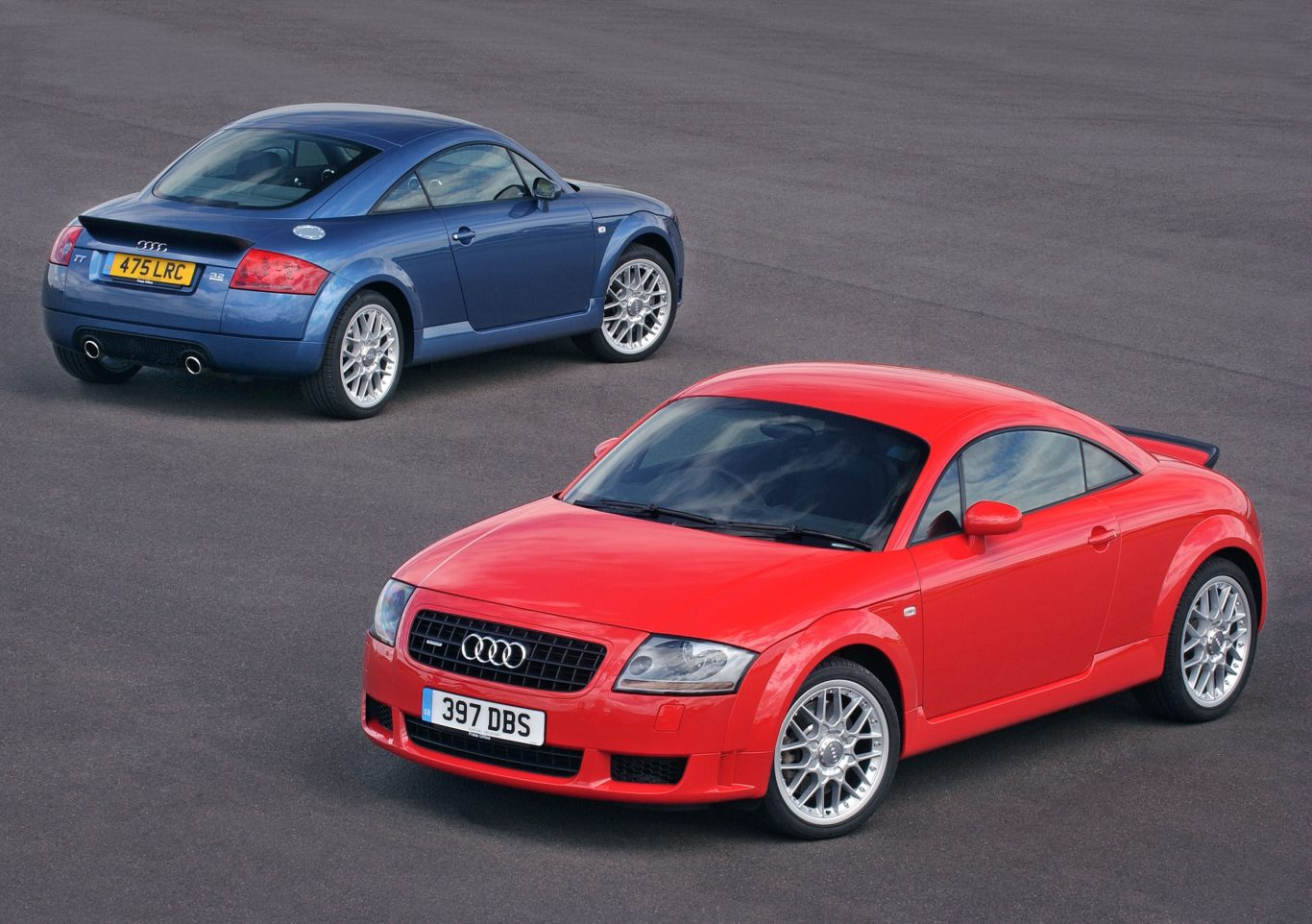 The Audi TT broke the mould in terms of styling