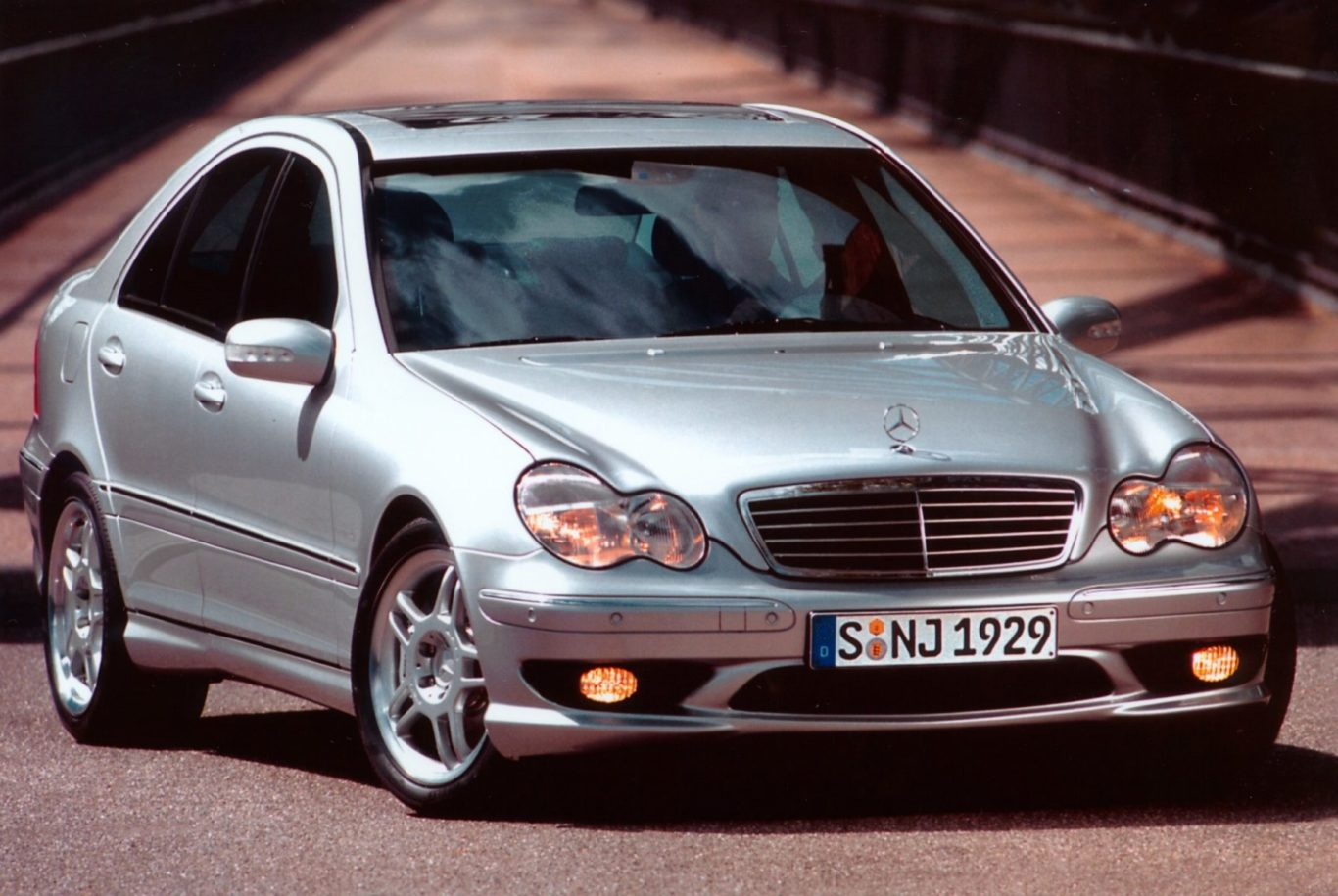 The Mercedes C32 was based on the regular C-Class