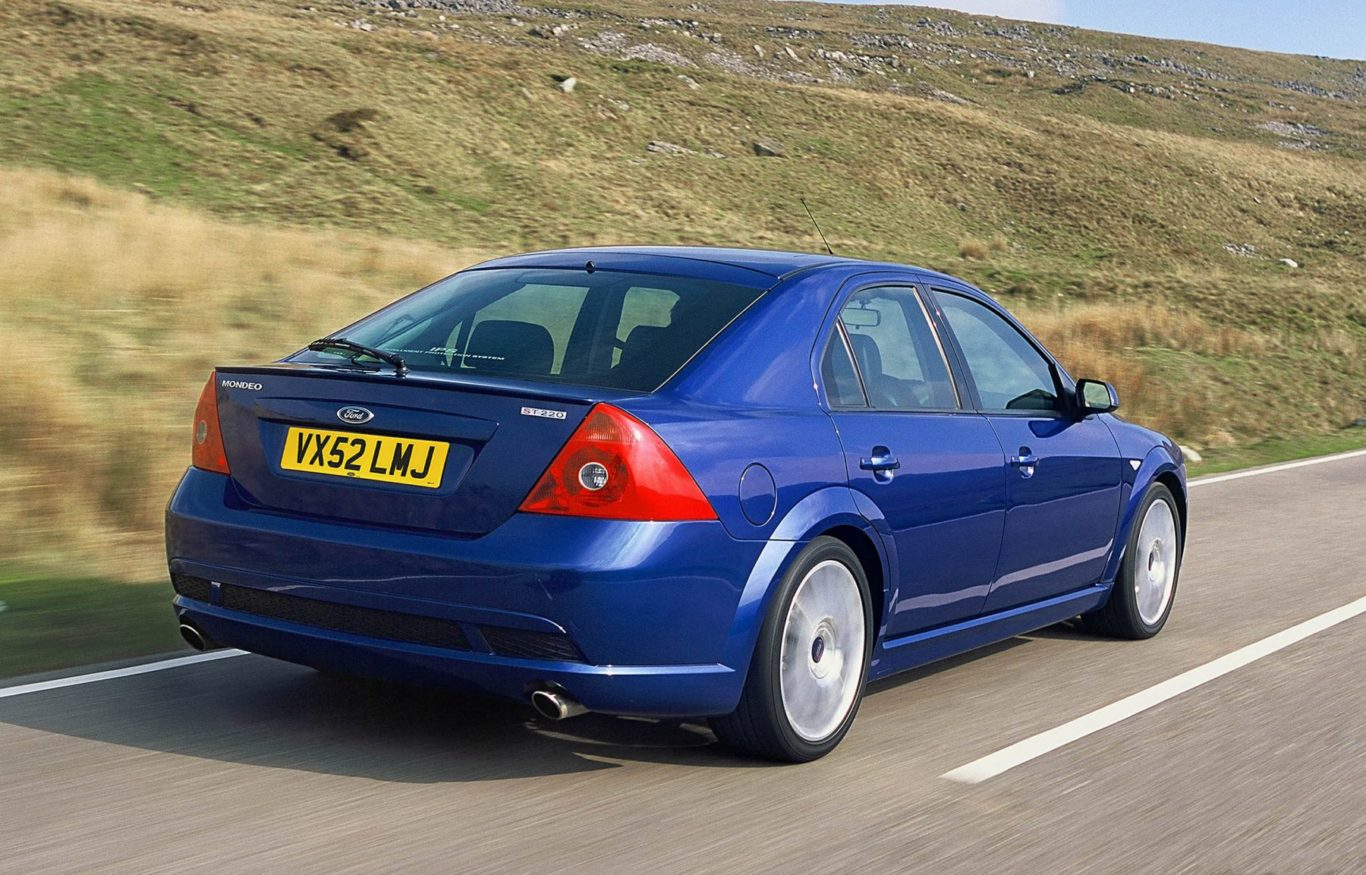 The ST220 brought performance to the Mondeo range