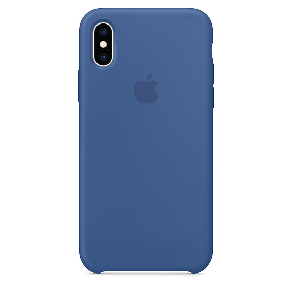 Delft Blue  iPhone XS Silicone Case