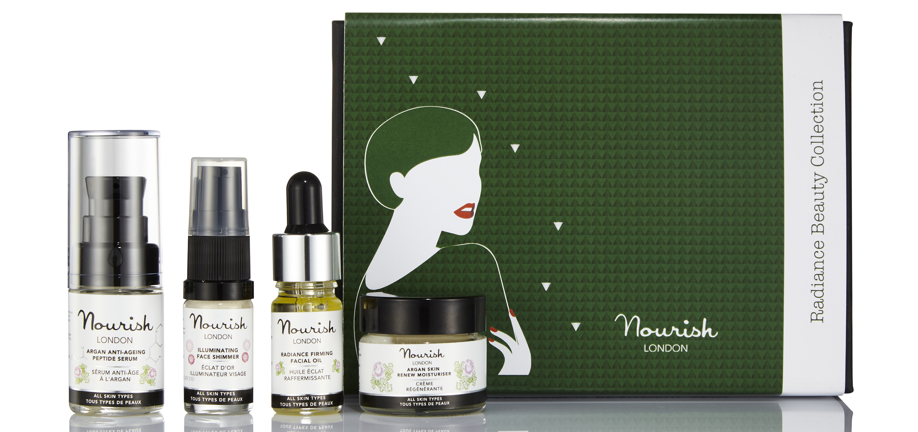 Nourish London Radiance Beauty Collection