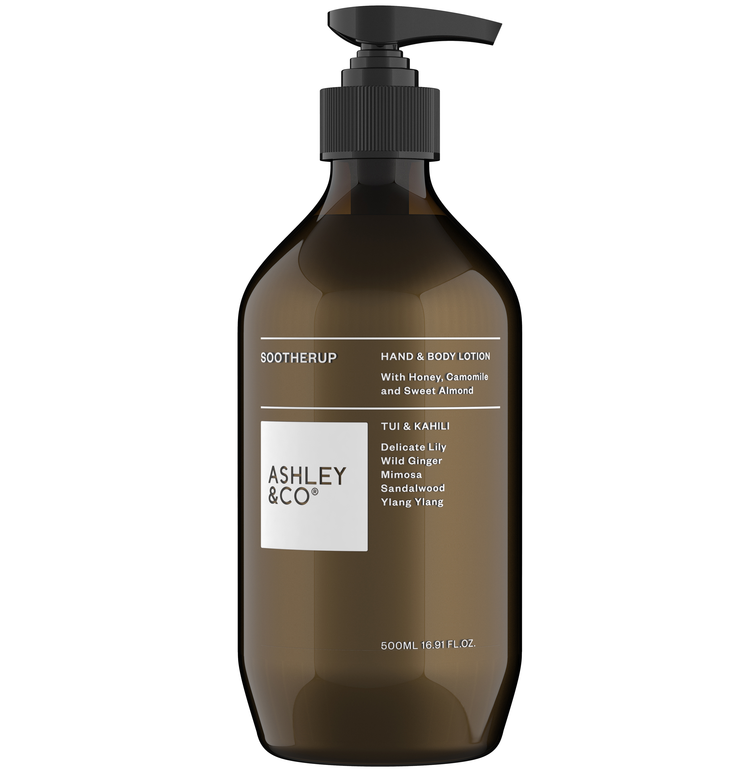 Ashley & Co Sootherup Tui & Kahili Hand and Body Lotion