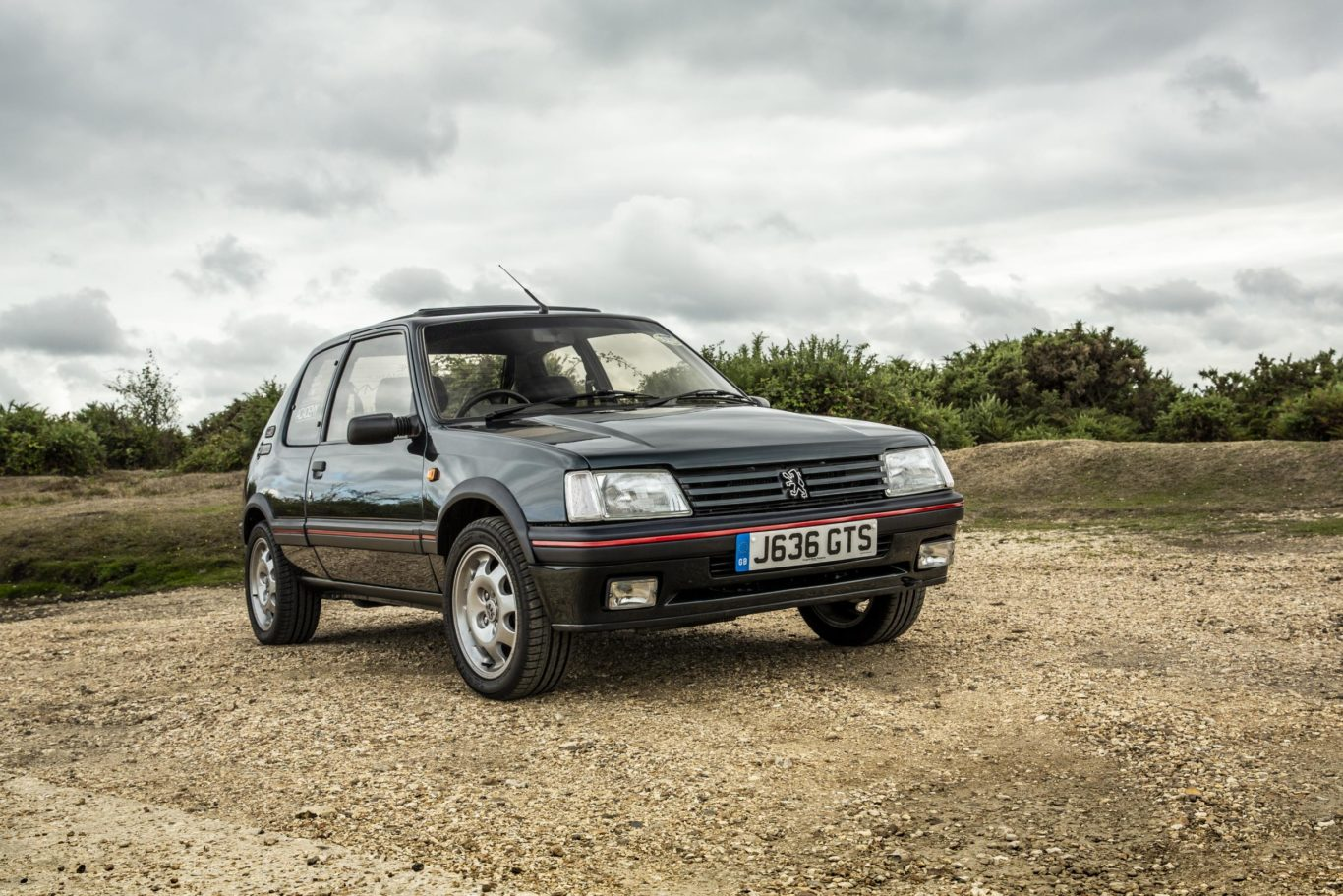 The 205 GTI has gone on to become a cult classic