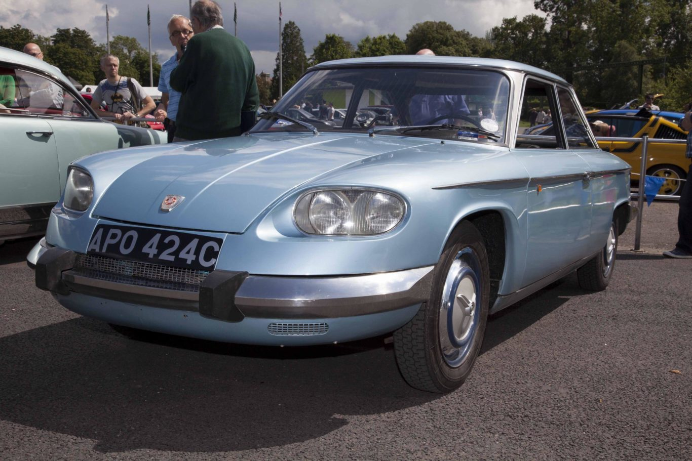 The 24 was the last car Panhard built before concentrating on military vehicles