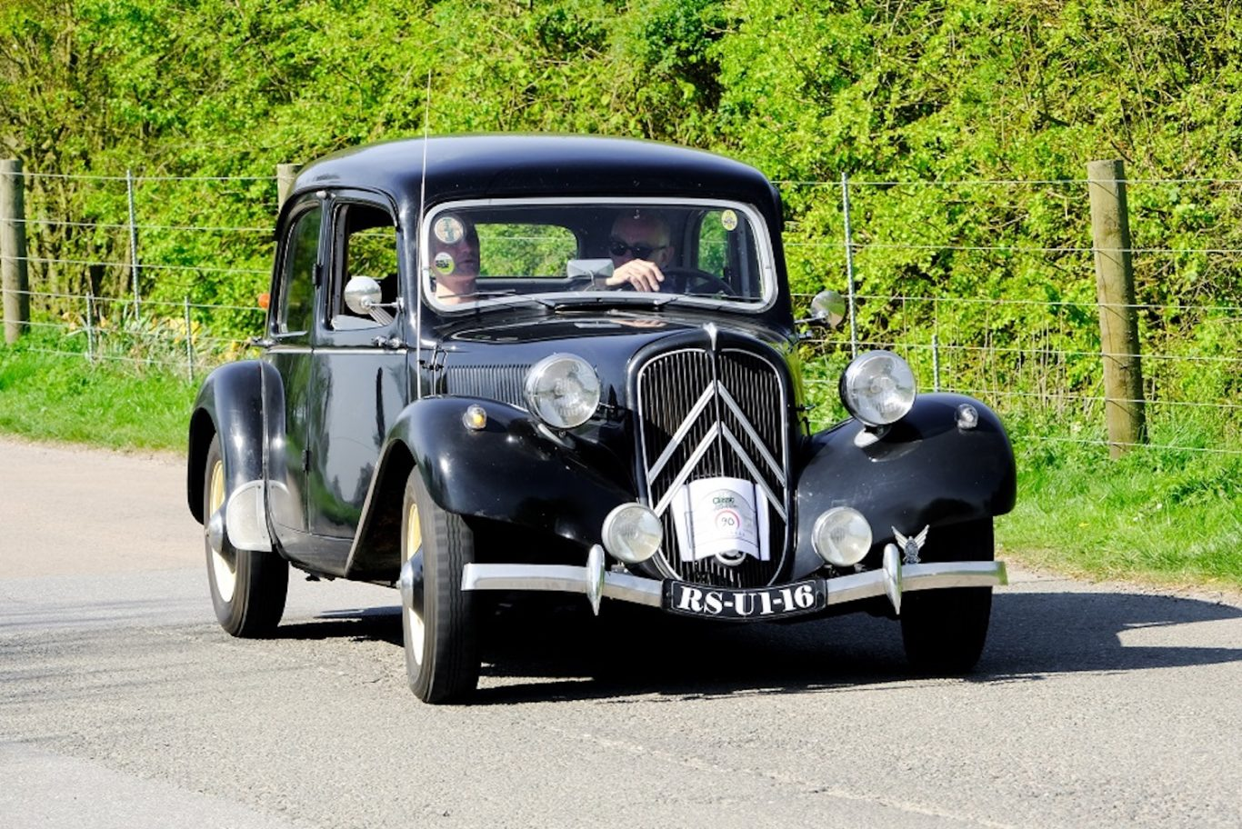 The Citroen Traction Avant remained in production for more than 20 years in one form or another
