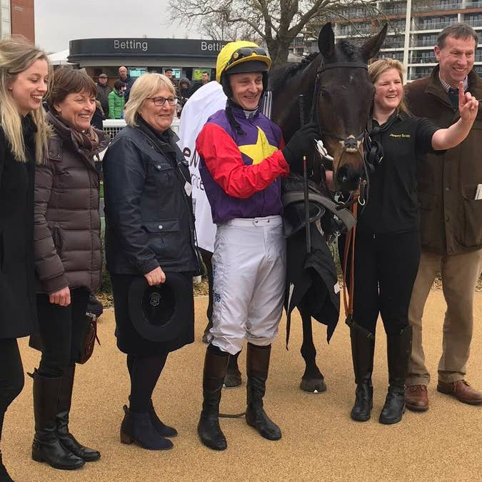 Dashel Drasher is set to have his sights raised after winning at Newbury