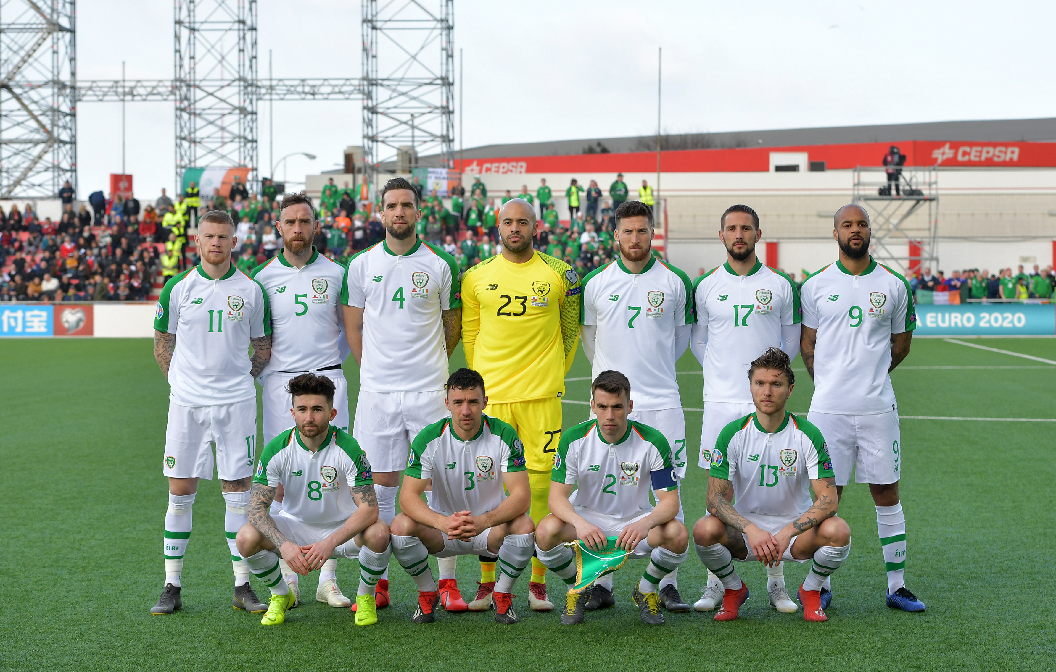 The Republic of Ireland team group