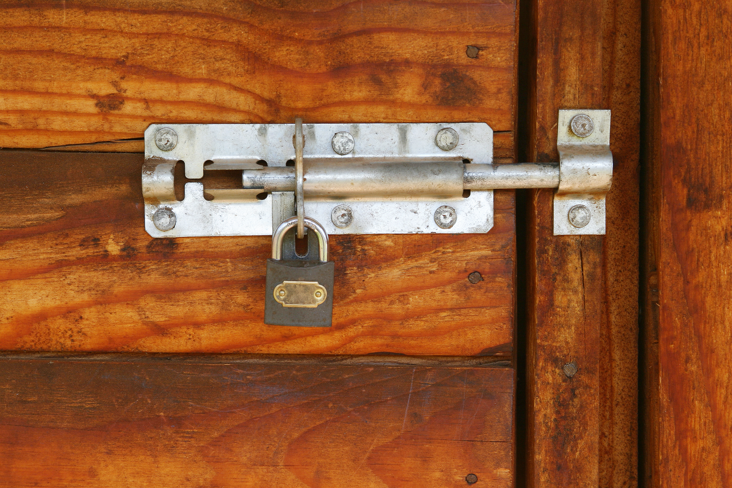 lock on a shed (iStock/PA)