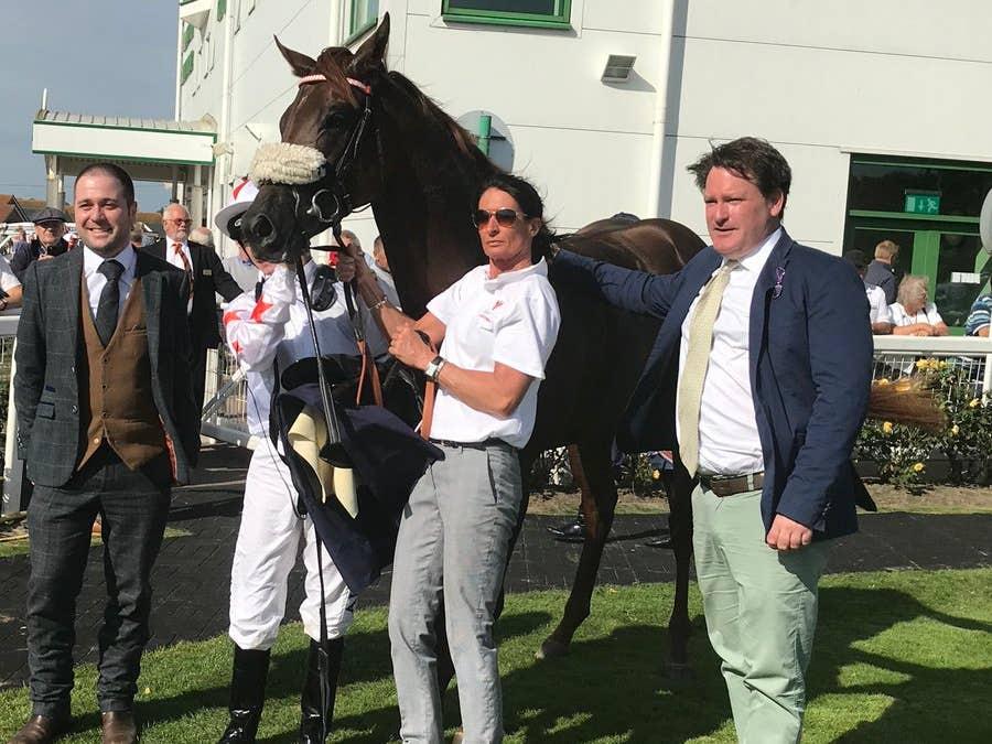 Magic J impressed in winning at Yarmouth (Graham Clark/PA)