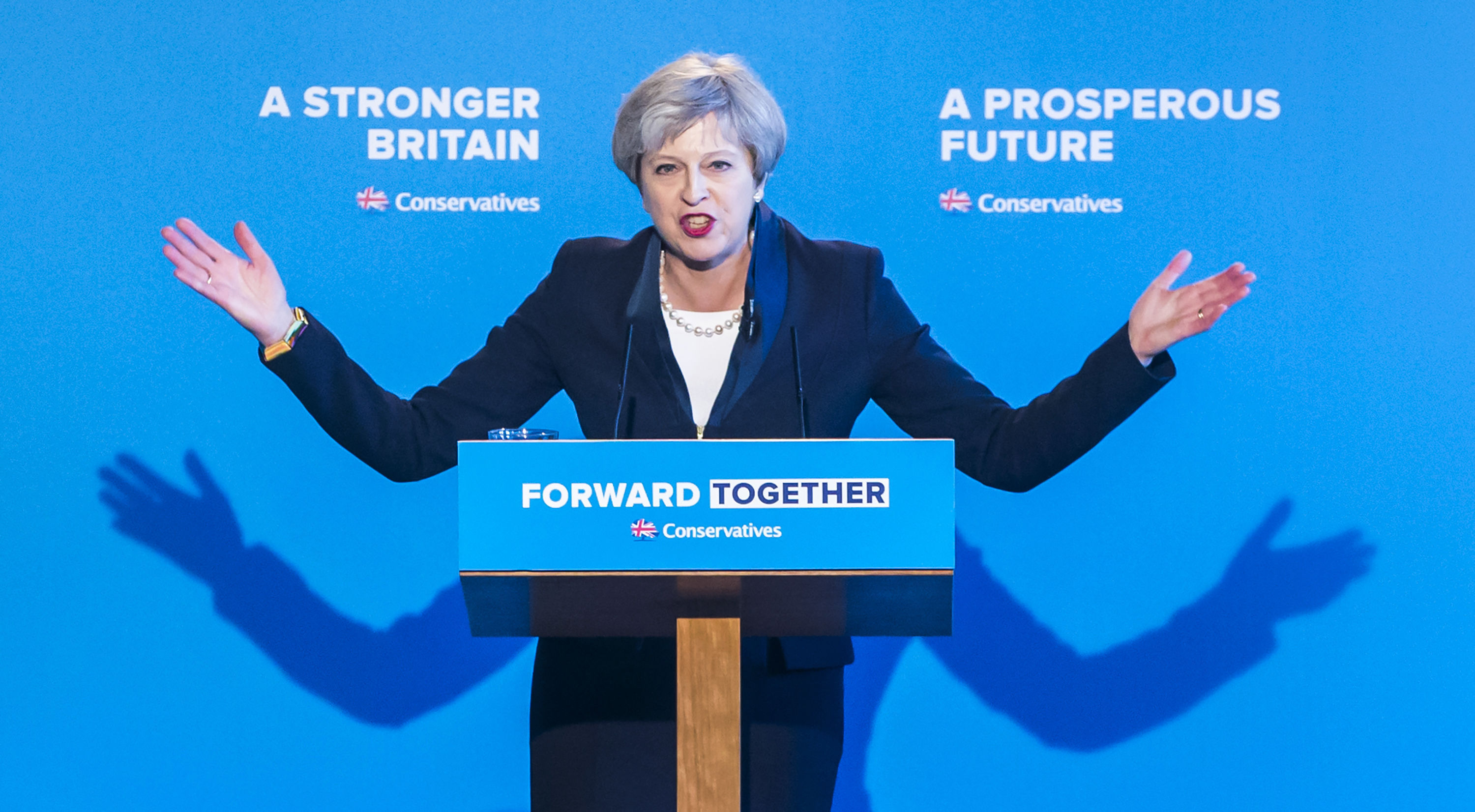 Mrs May's awkward demeanour and endlessly repeated 'strong and stable' mantra saw her dubbed the Maybot during the 2017 election campaign