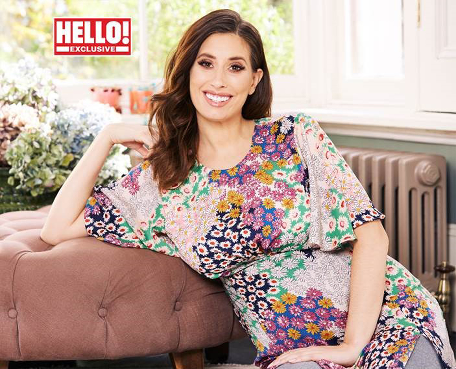 Stacey Solomon in Hello! magazine