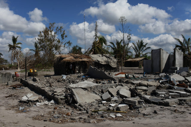 The Red Cross is supporting over 200,000 people in Mozambique (Caroline Irby/British Red Cross/PA)