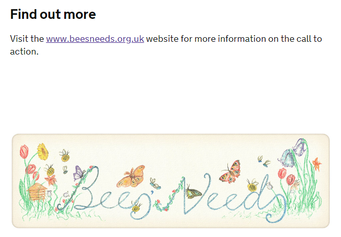 Government's online bee advice links web users to escort ...