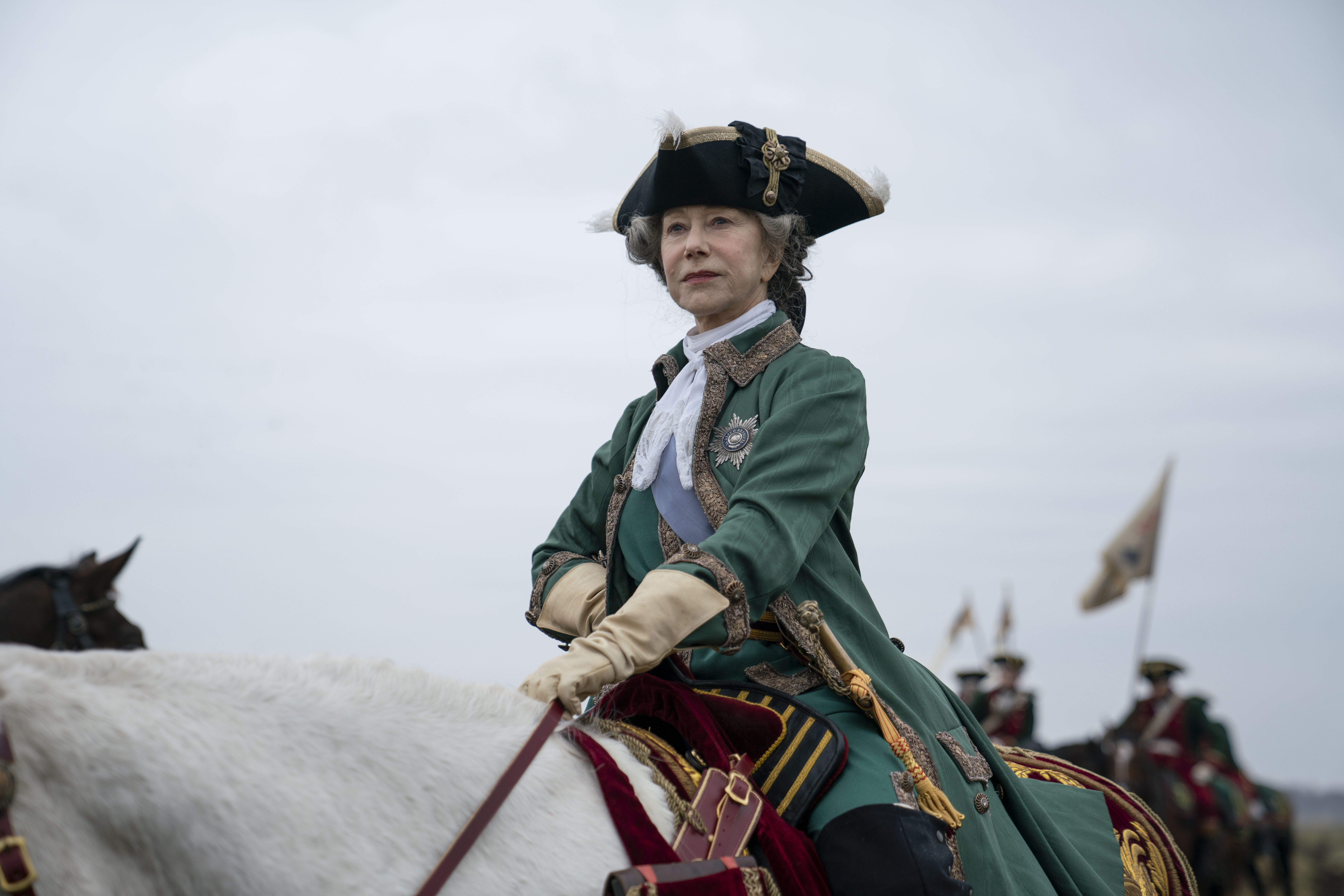 Dame Helen Mirren as Catherine The Great (