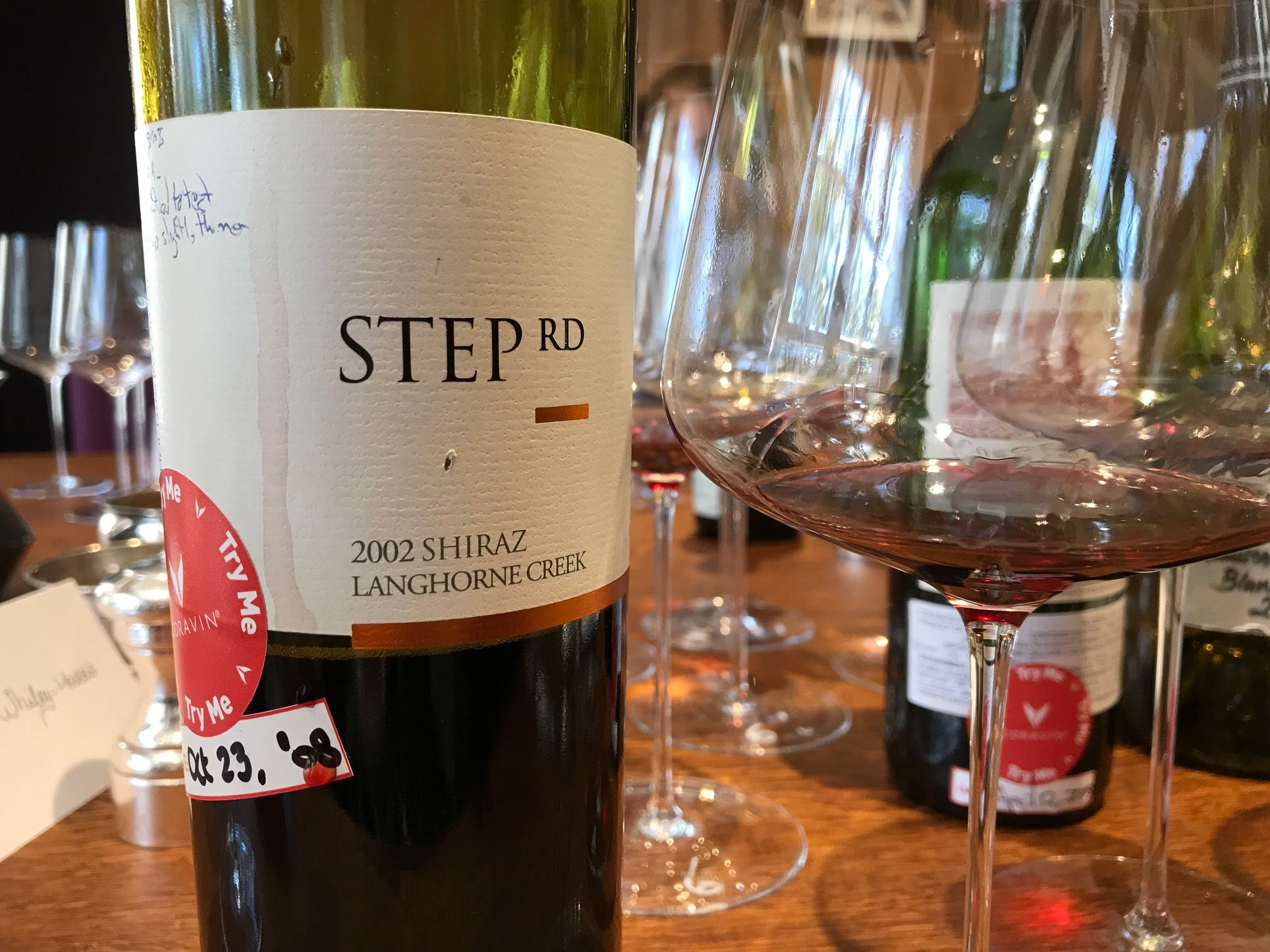Step RD Langhorne Creek Shiraz
