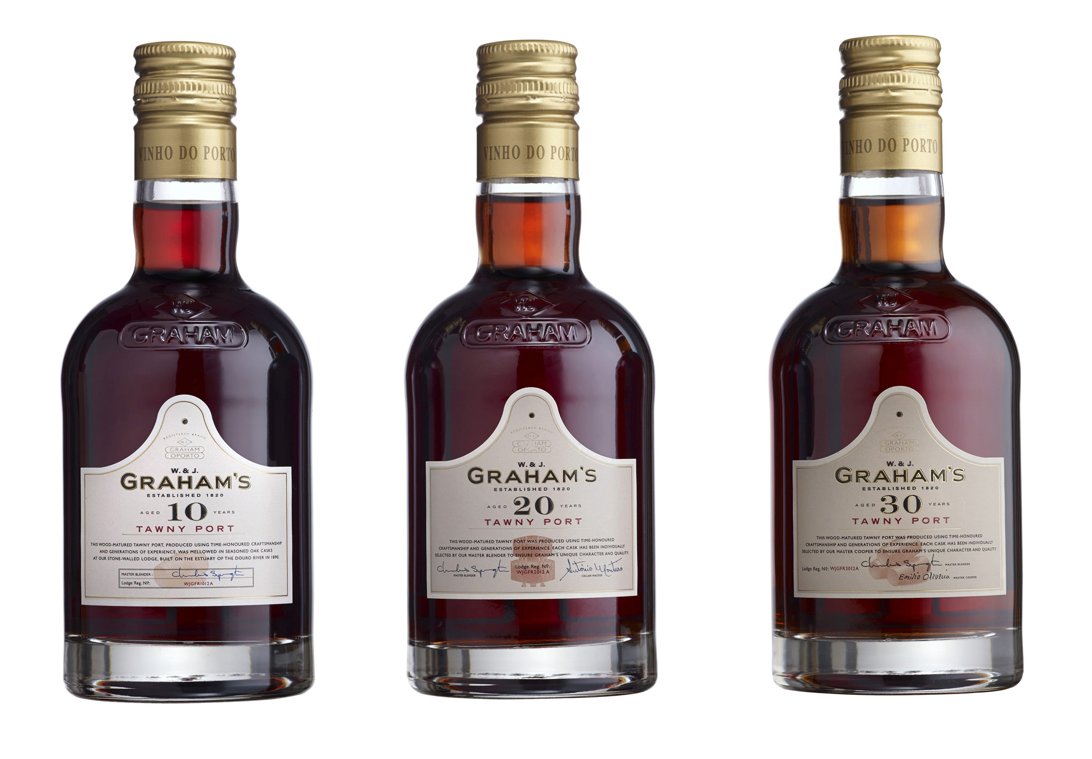 Range of Graham's tawny ports