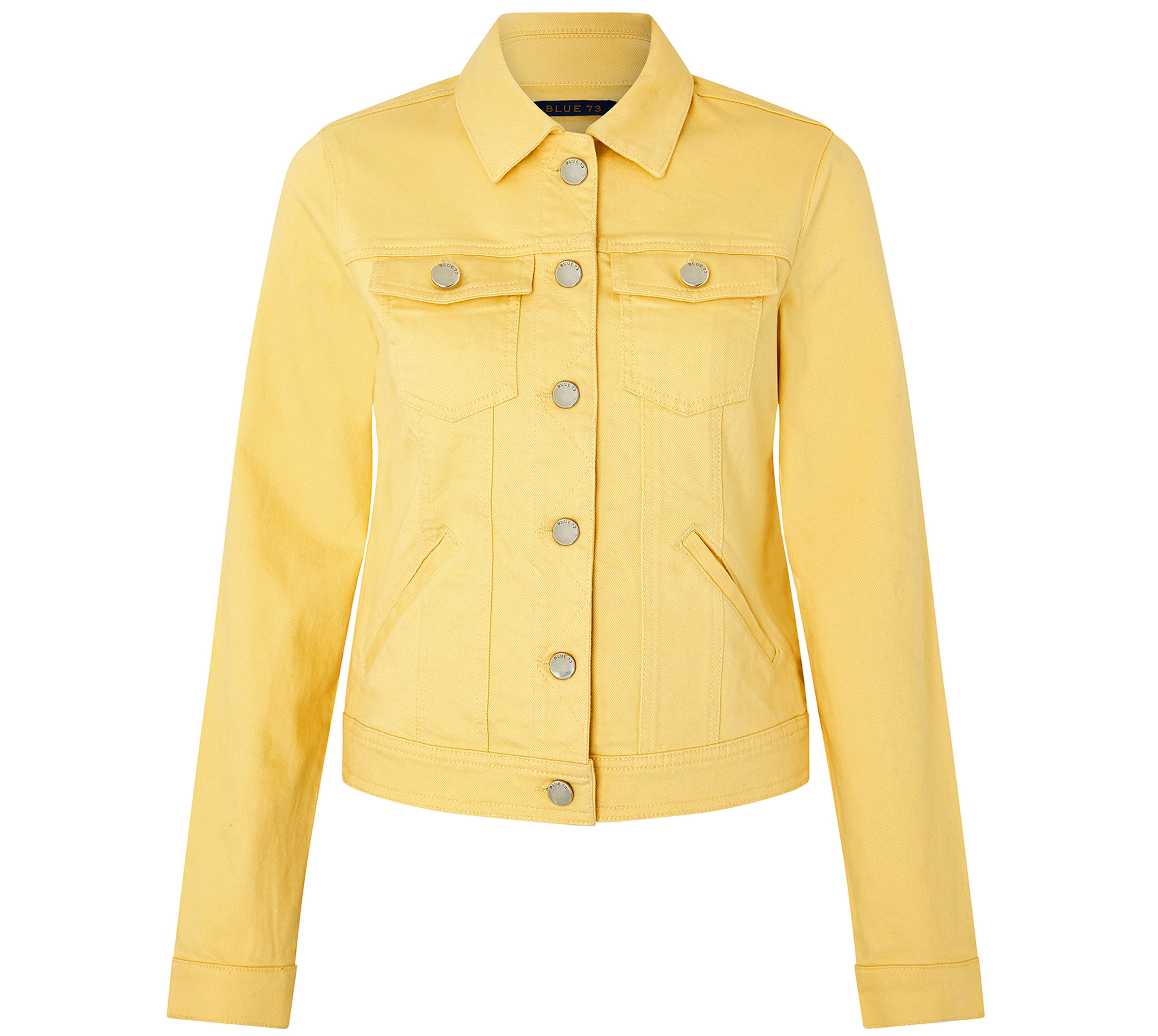 Monsoon Adrianna Yellow Denim Jacket