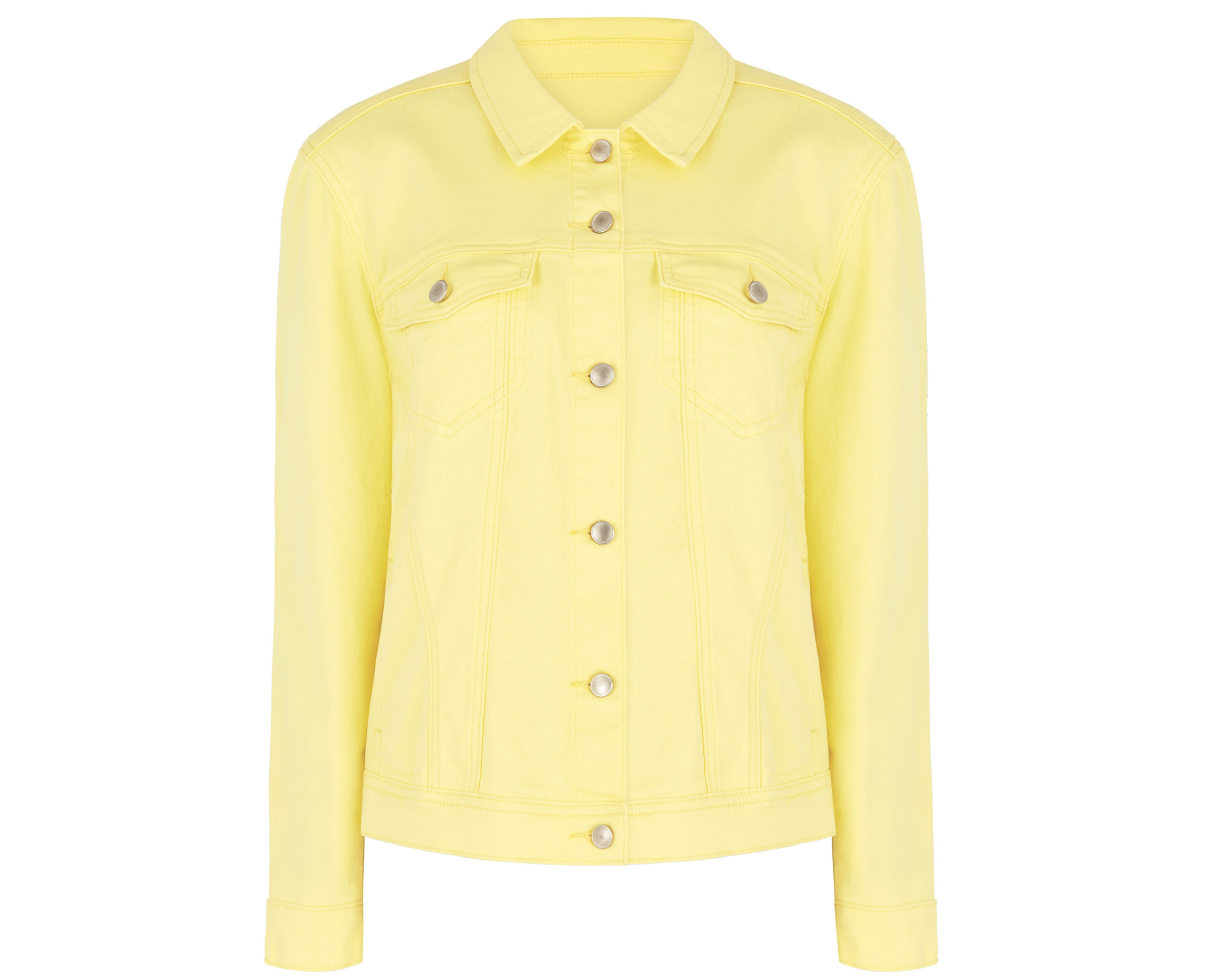 Bonmarche Yellow Denim Jacket