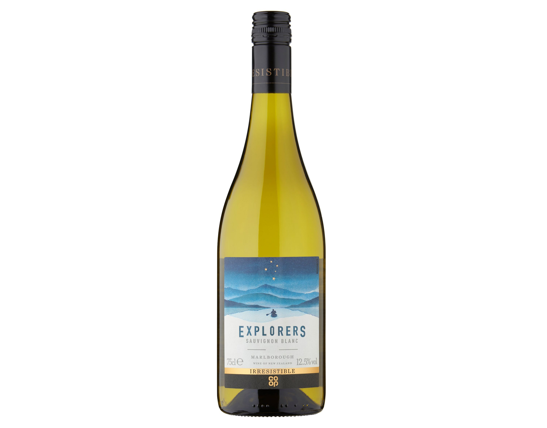 Co-op Irresistible Explorer's Marlborough Sauvignon Blanc, New Zealand