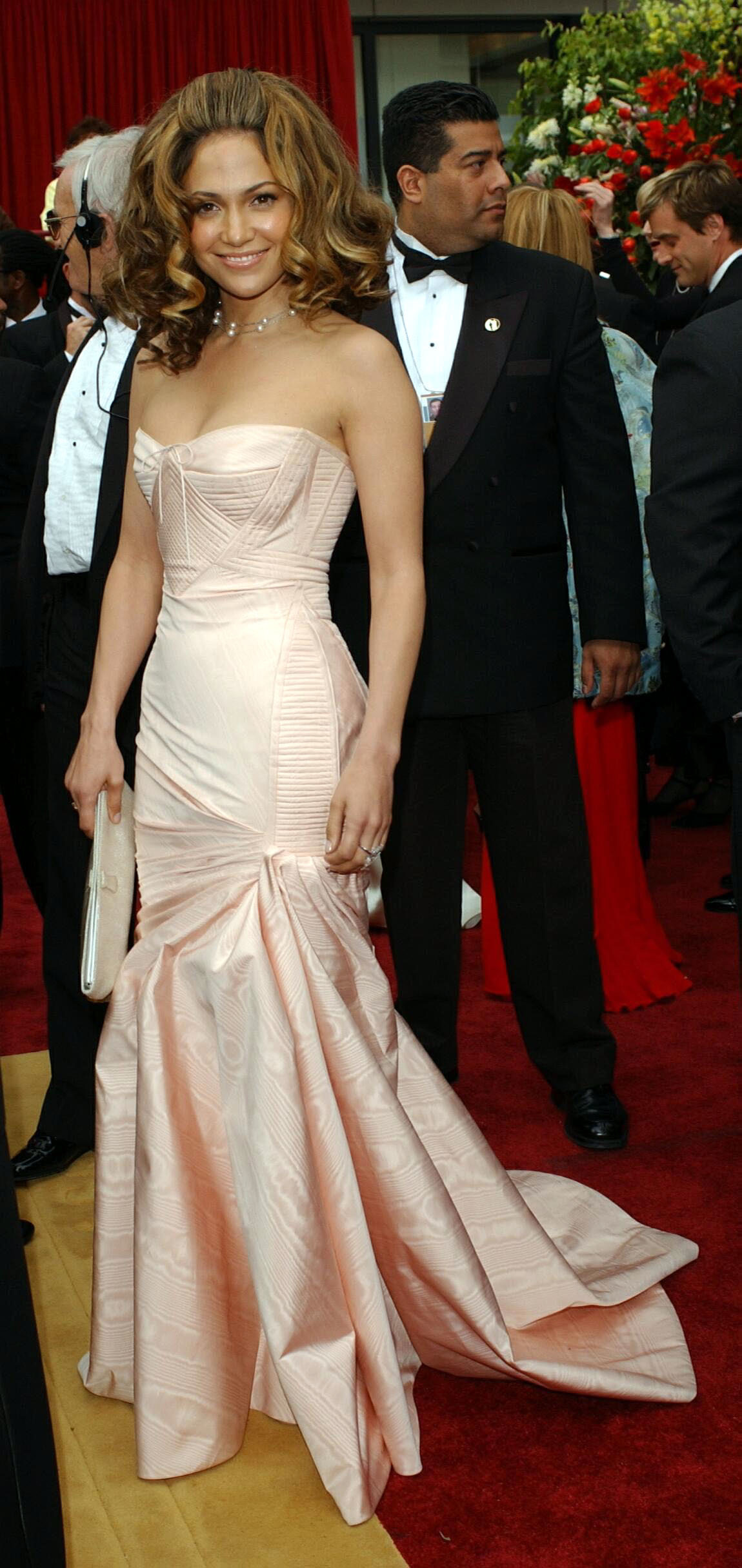 JLo at the 2002 Oscars