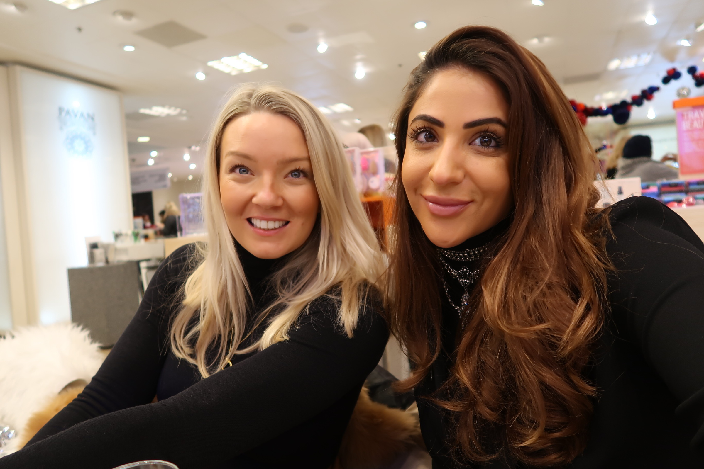 Beyou founders Charlotte Green (left) and Nawal Alkhedairy