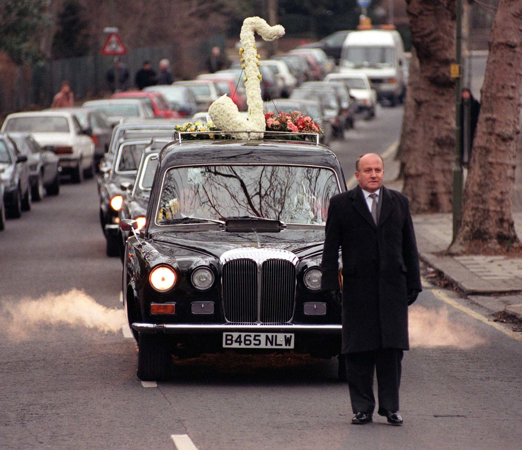 Ronnie Scott's hearse