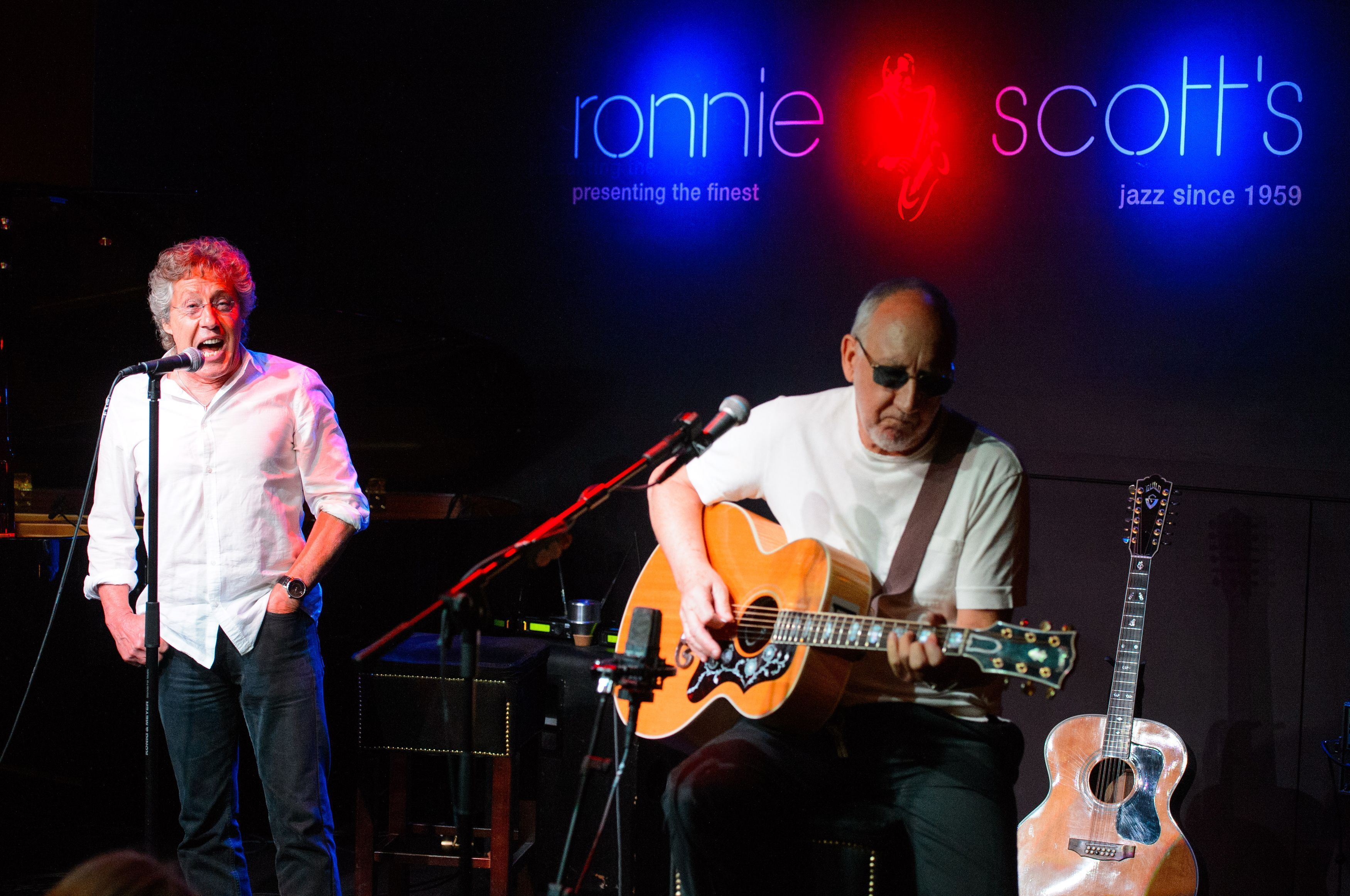 The Who playing at Ronnie Scott's