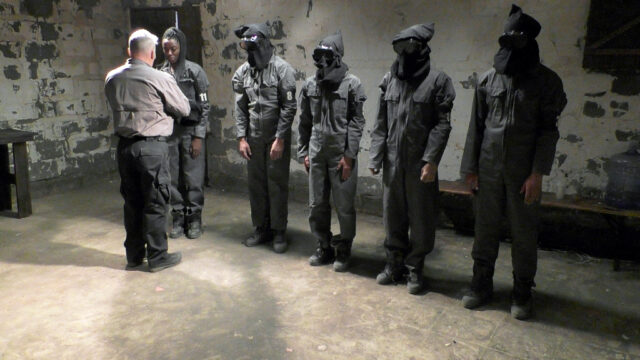 The group underwent a gruelling interrogation process (Channel 4 Television)