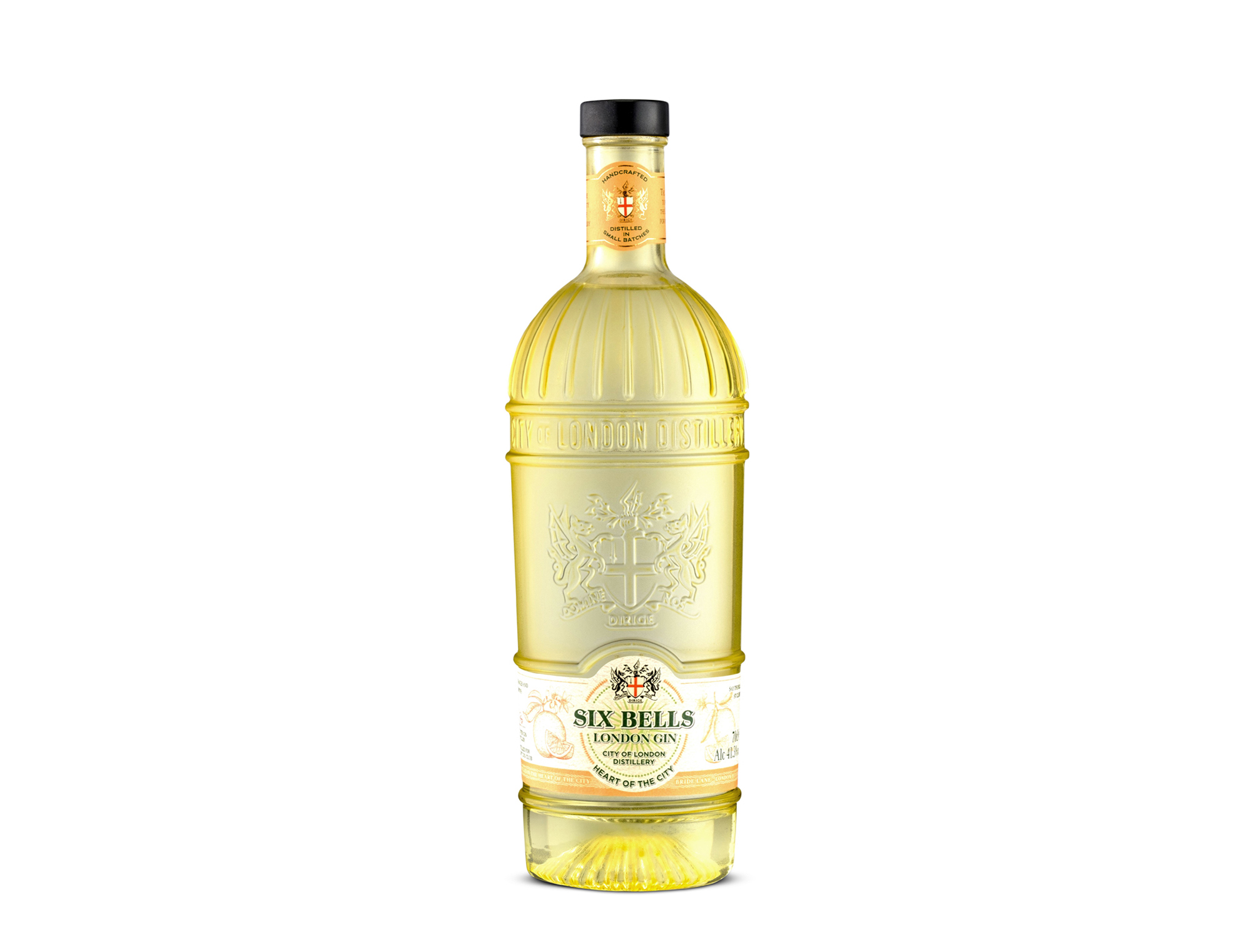 City of London Distillery Six Bells Lemon Gin