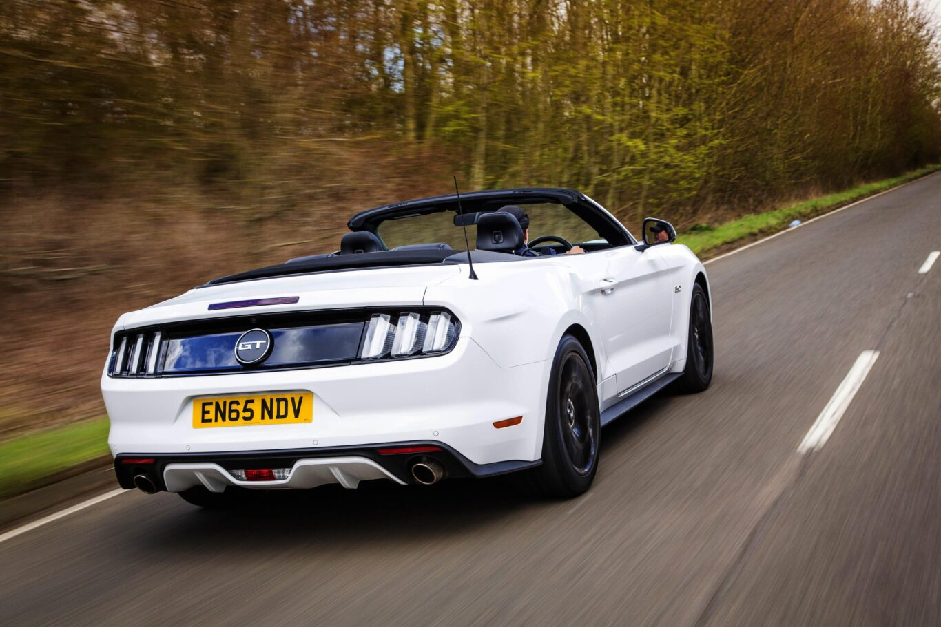 The Mustang brings old-school muscle car charm to the UK
