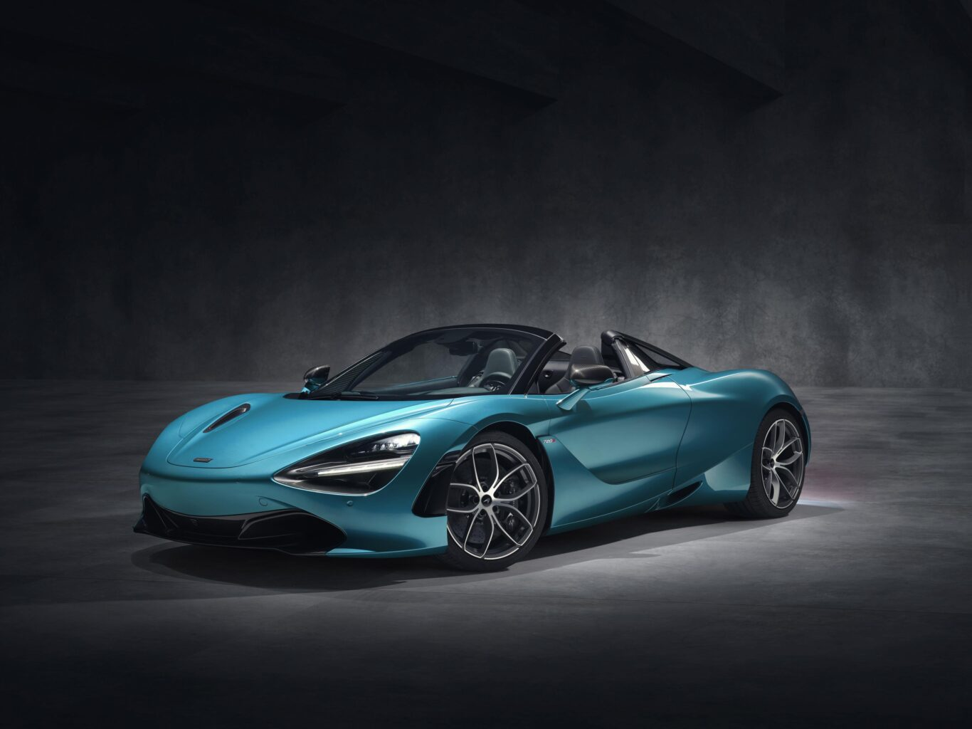 The 720s Spider is enormously powerful
