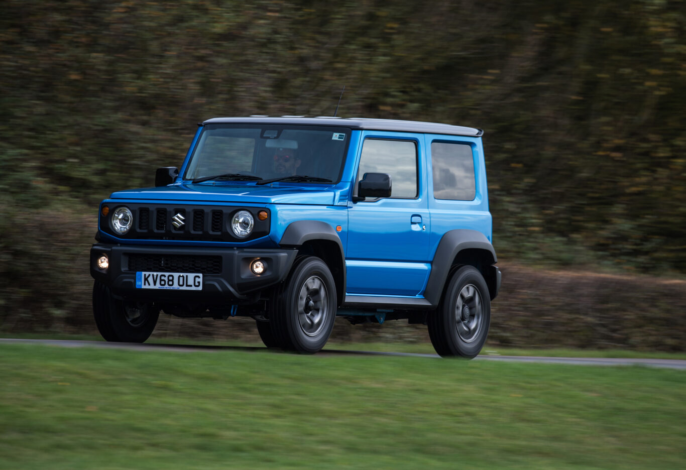 The Jimny is remarkably capable off-road