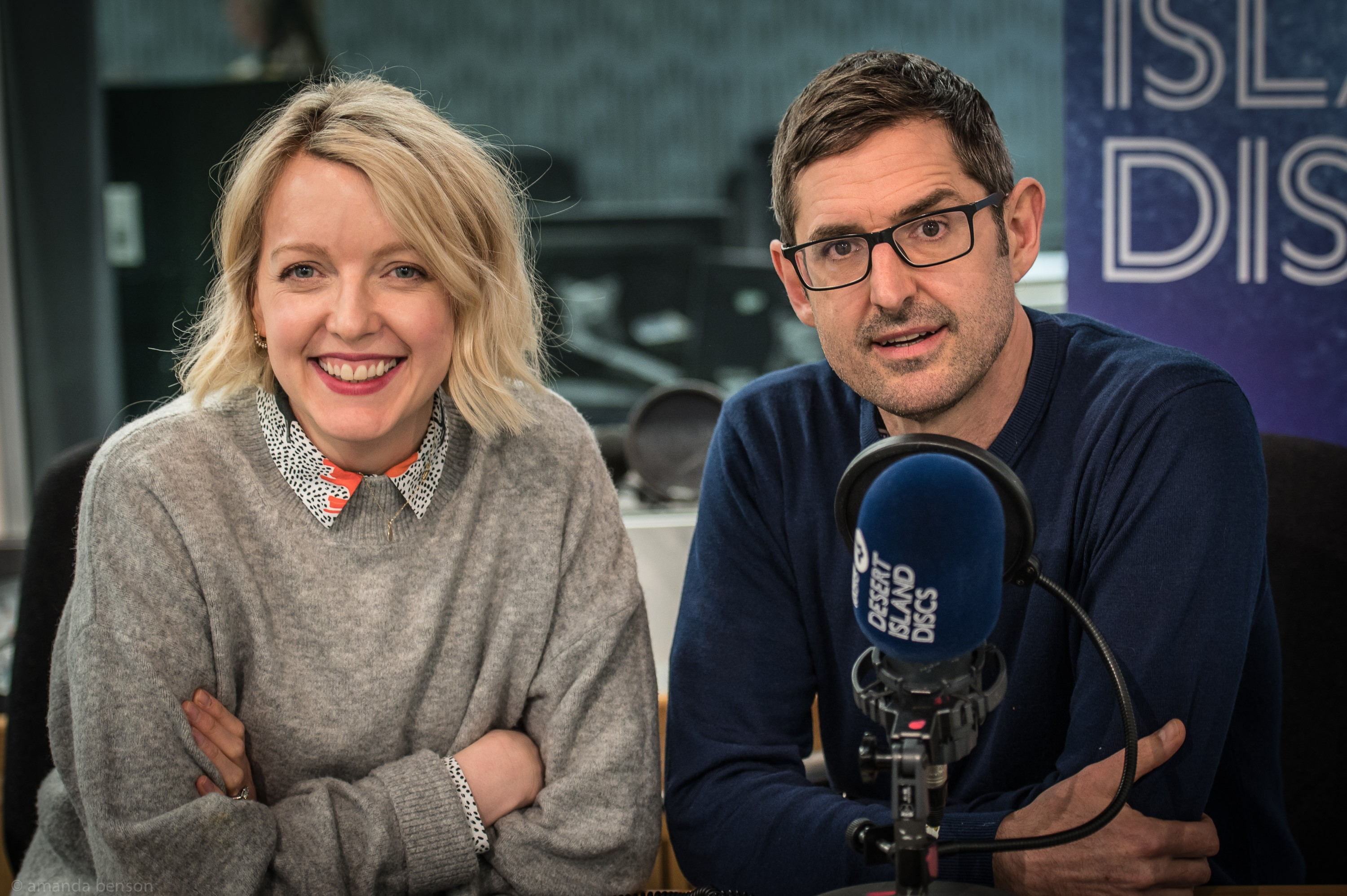Louis Theroux and Lauren Laverne on Desert Island Discs