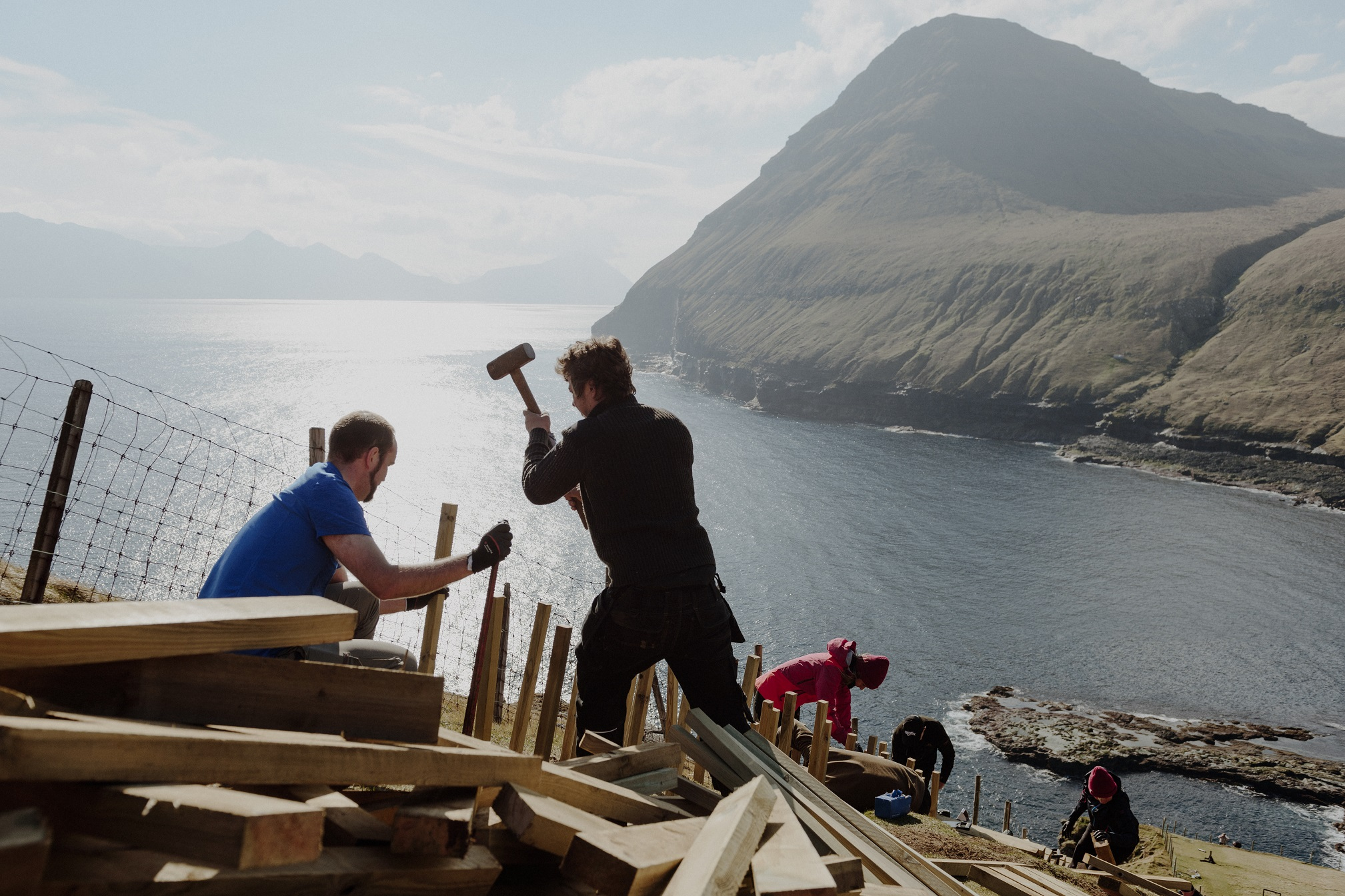 Faroe Islands volunteers