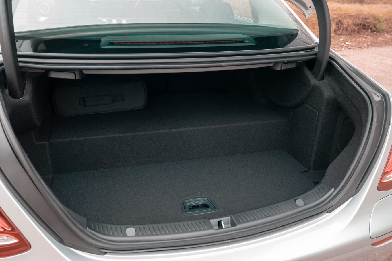 Boot space is reduced as a result of the batteries located in the boot floor