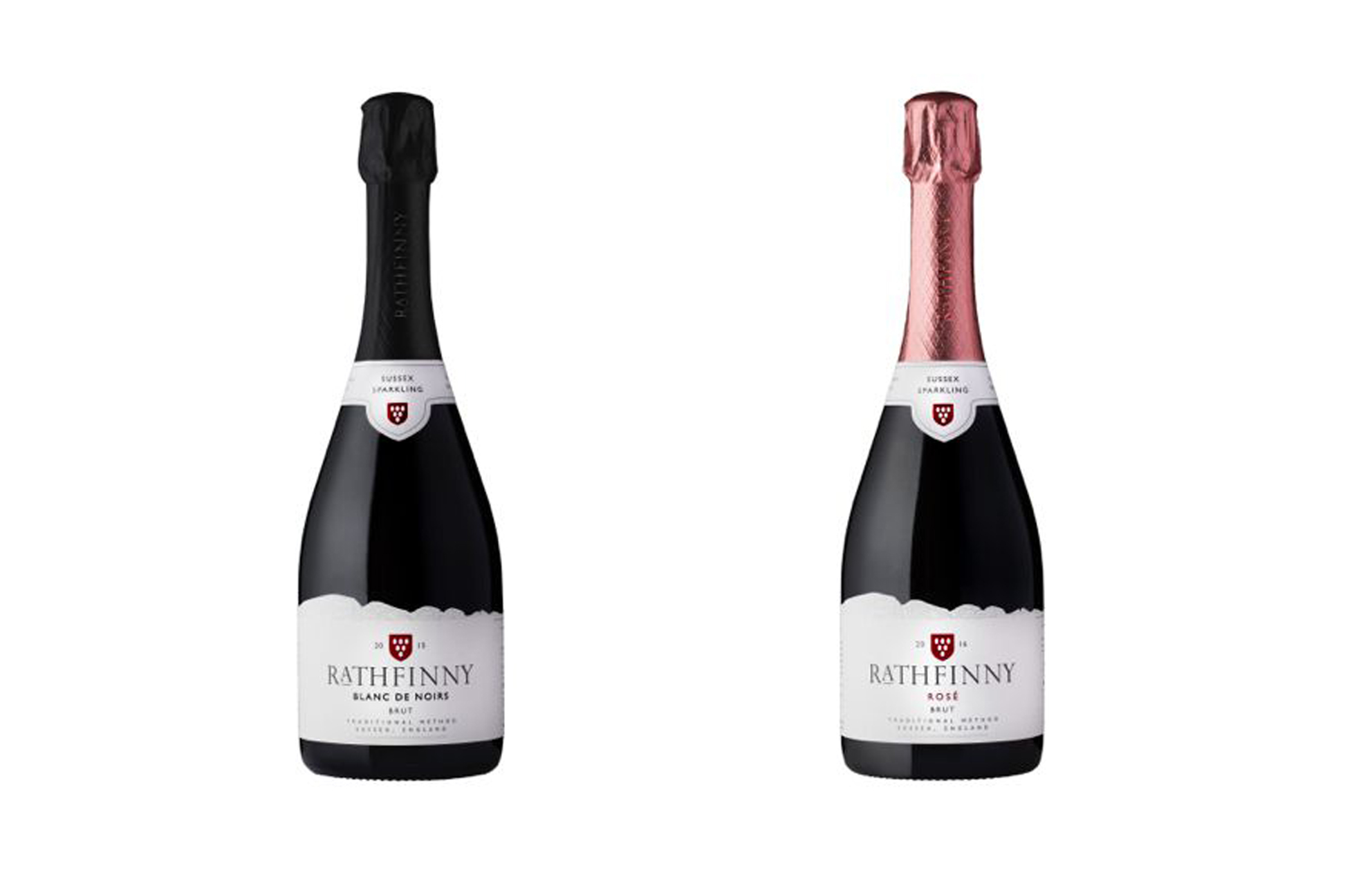 Rathfinny Blanc de Noirs 2015 and Rose 2016