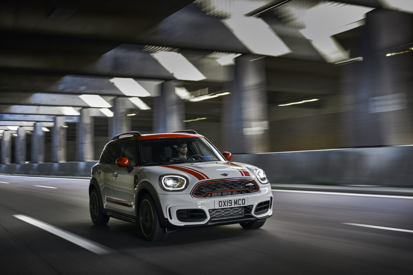 The Countryman incorporates a launch control system
