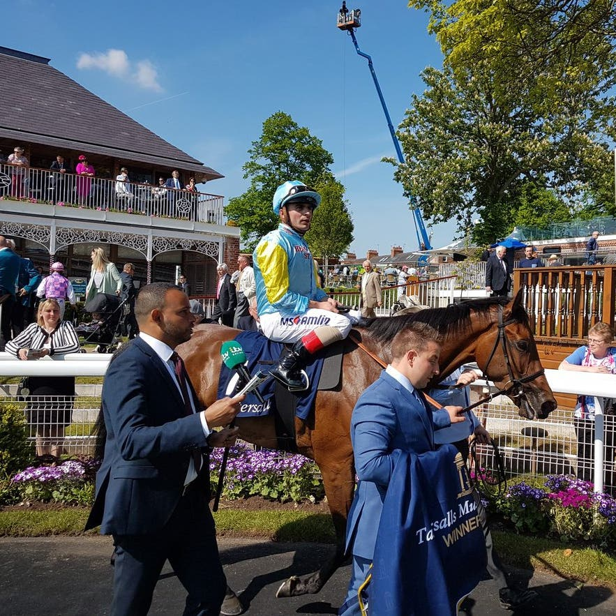 Nausha claimed a thrilling success in the Musidora Stakes