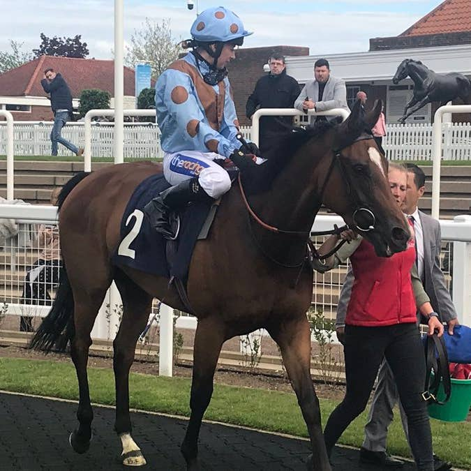 I Am Magical completed an across-the-card double for trainer Charlie Fellowes