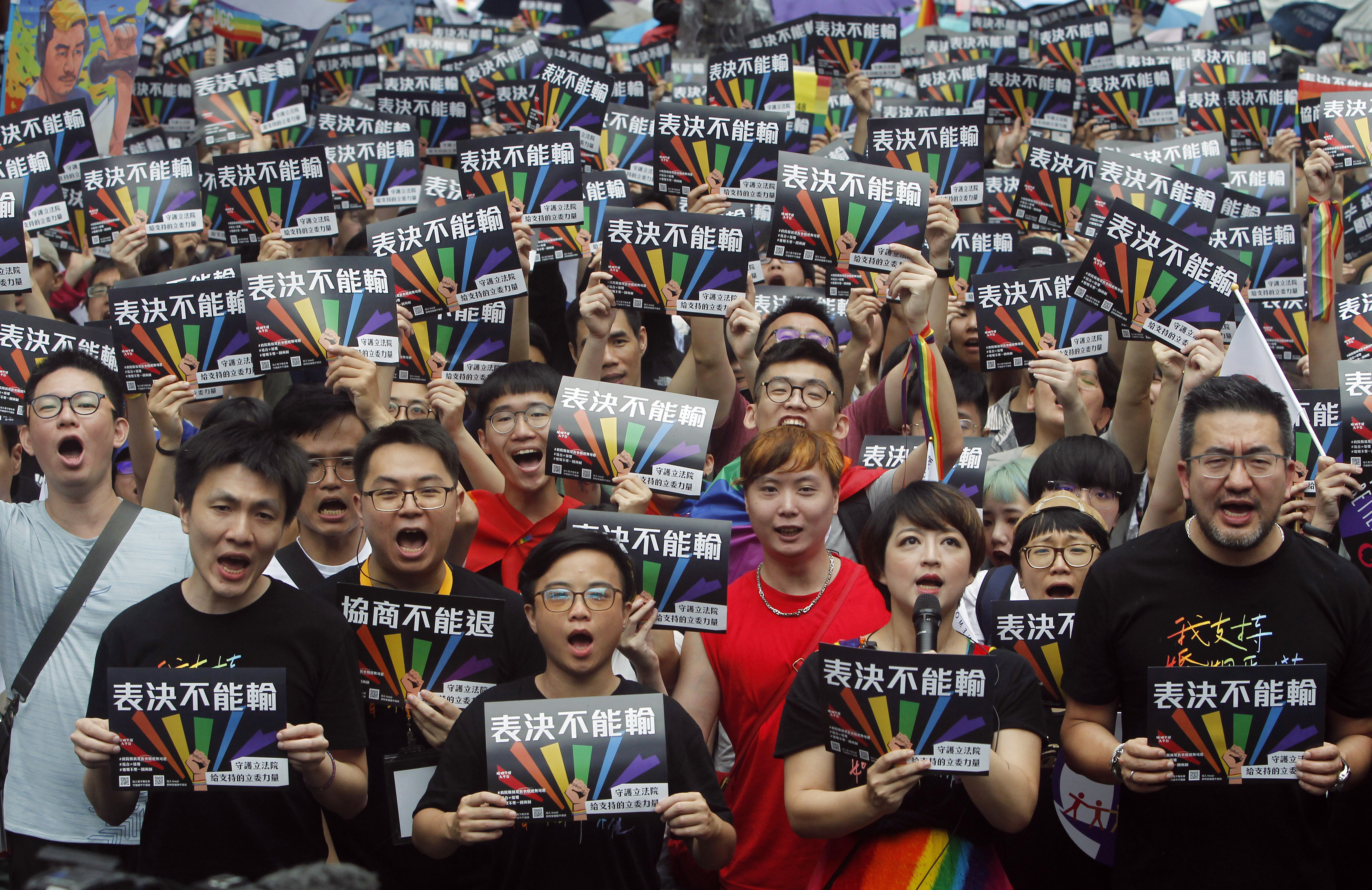 Taiwan legalises same-sex marriage