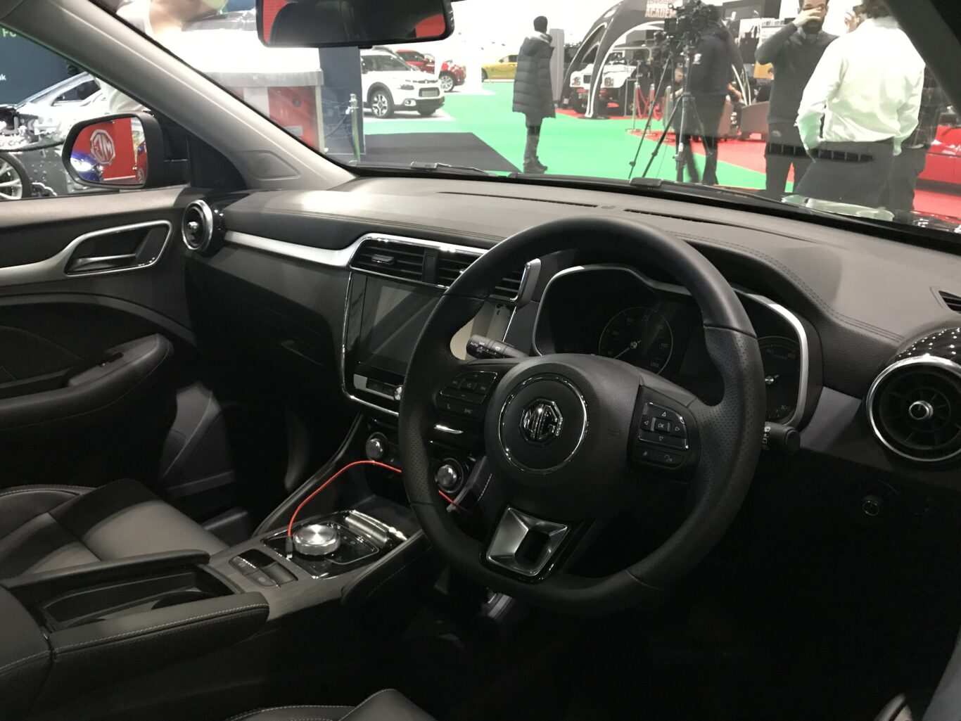The interior is largely similar to the regular ZS