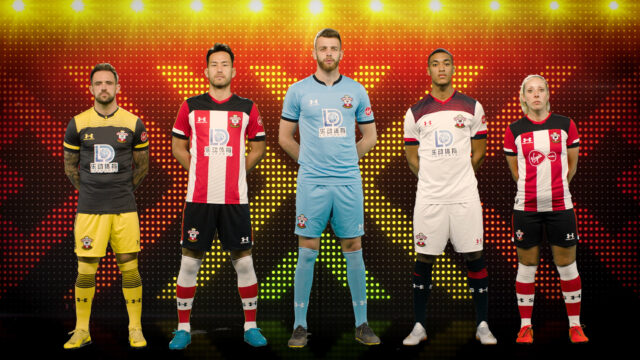 Southampton's new kit