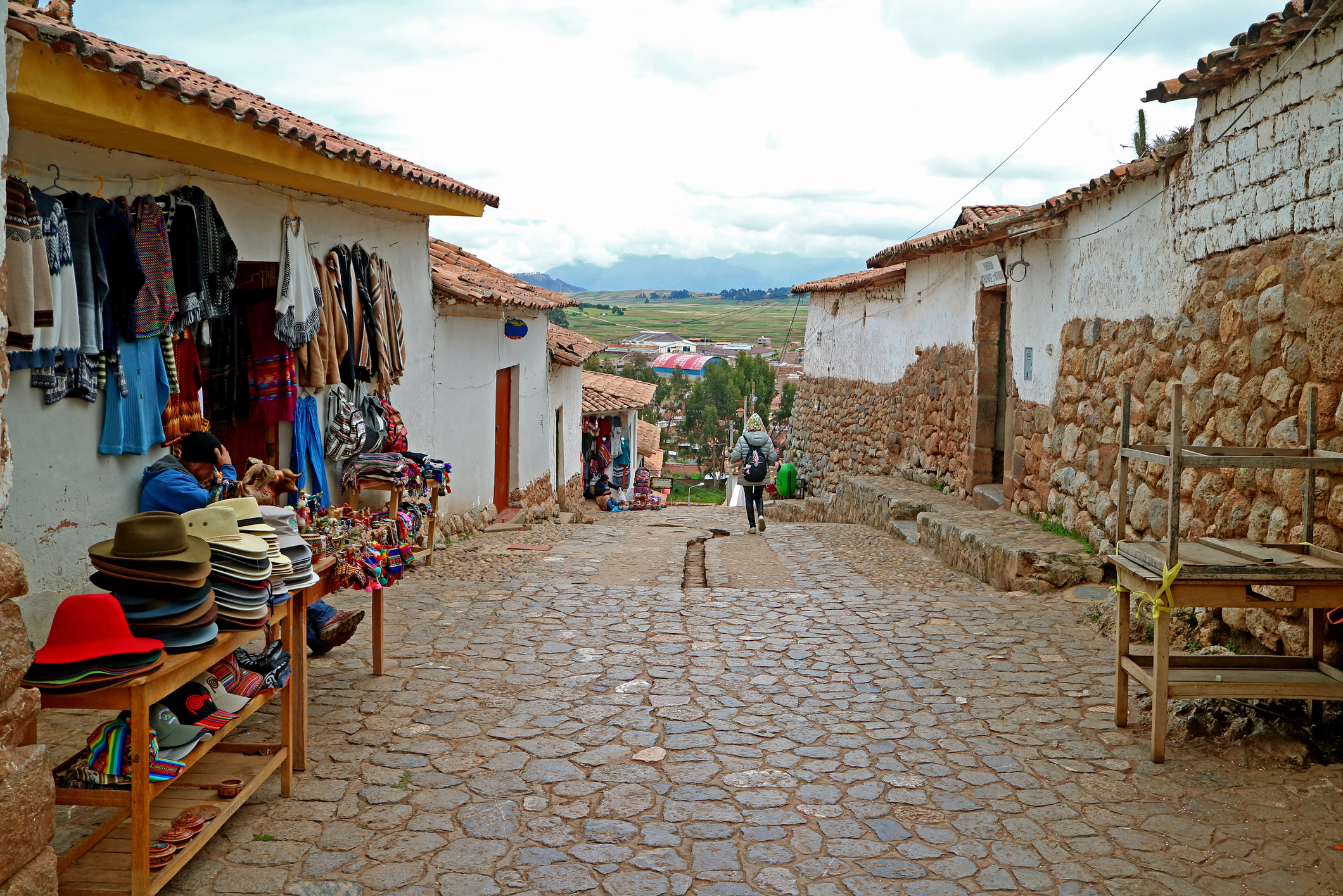 Cobblestone Walkway of Chinchero Village (iStock/PA)