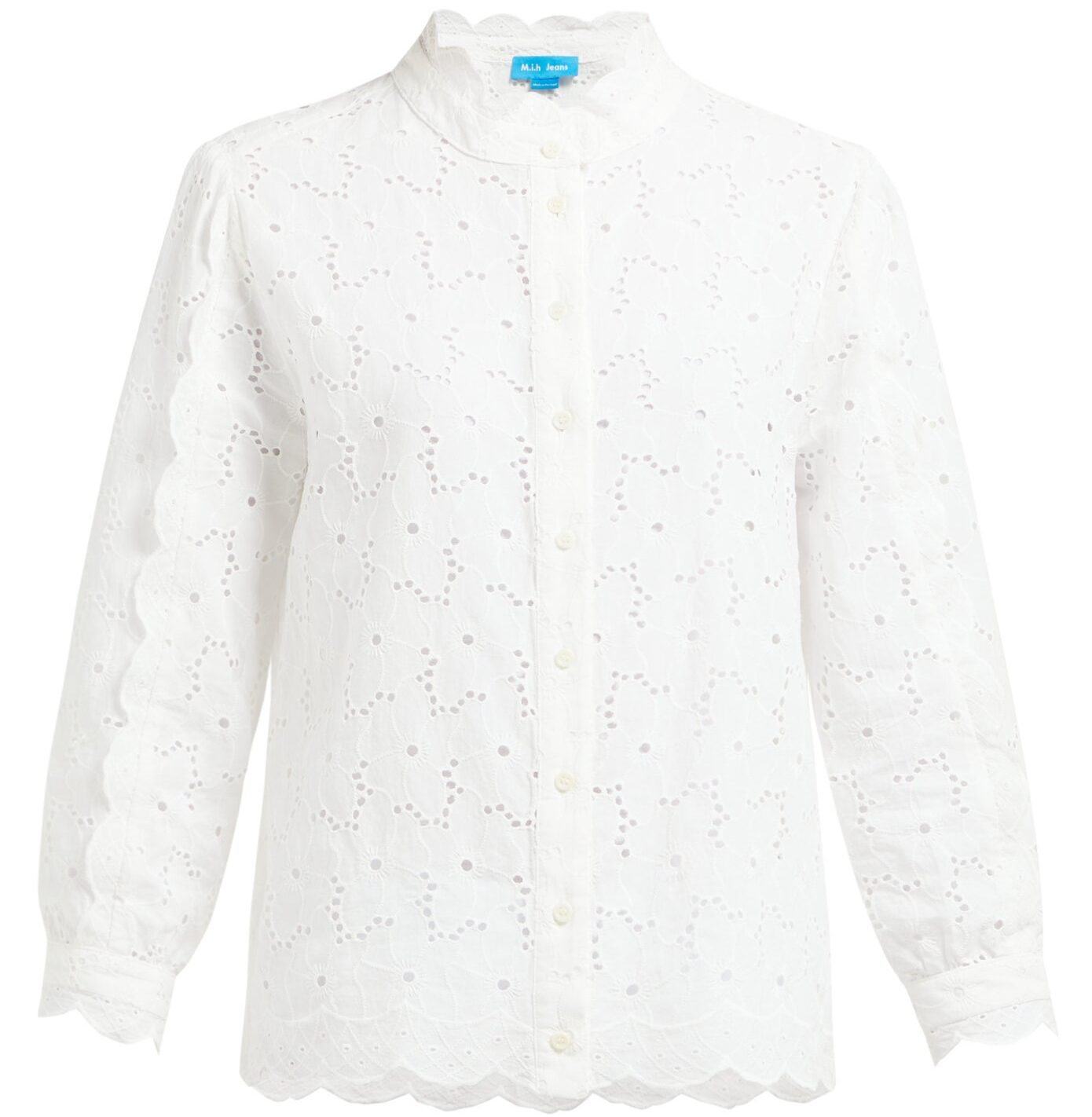 M.I.H Mabel Broderie-Anglaise Cotton Shirt