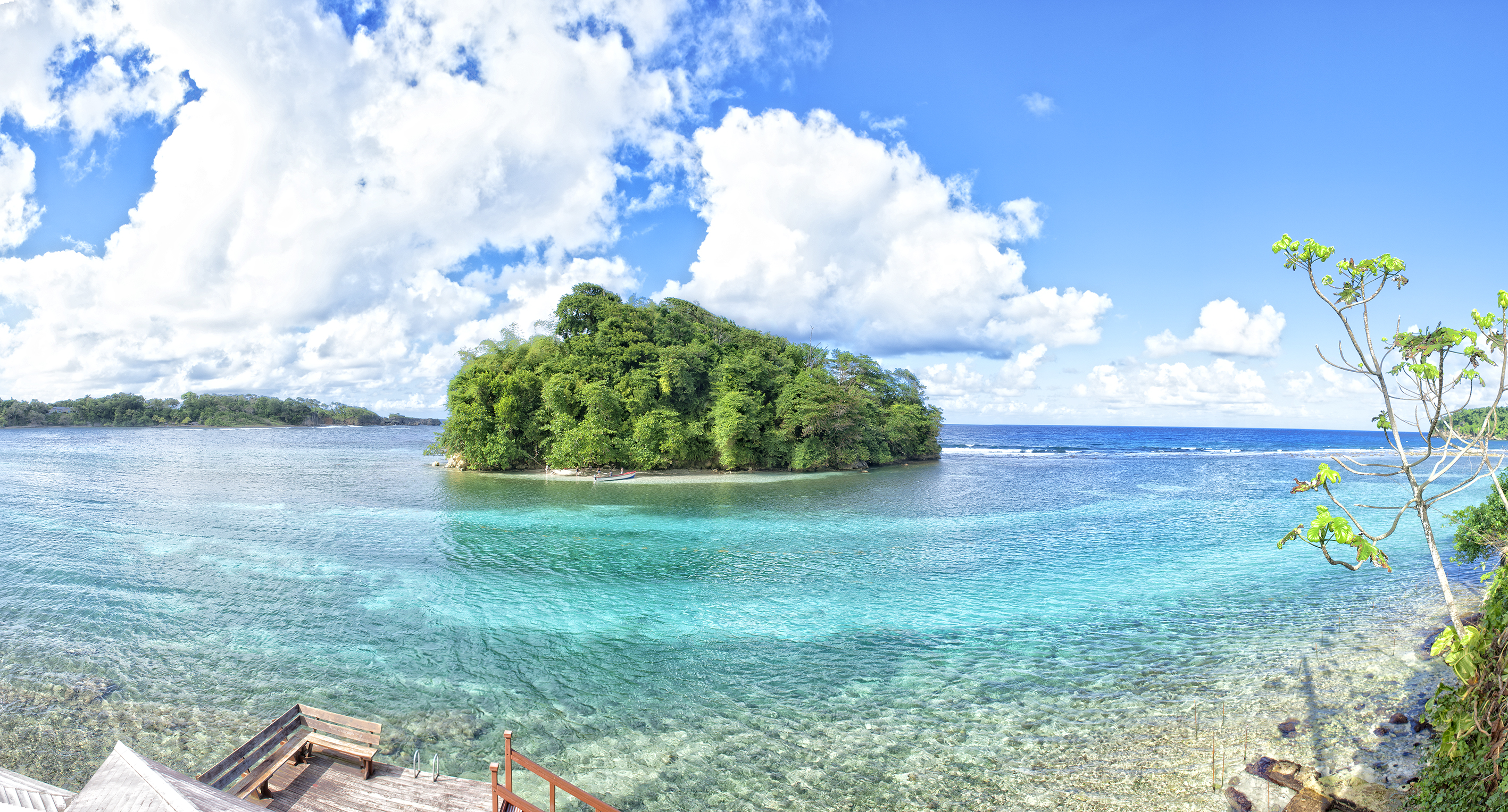 Pellew Island, also known as Monkey Island (StandeHass.com/PA)