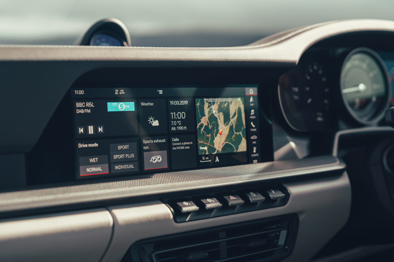 A new infotainment system is easy and simple to use