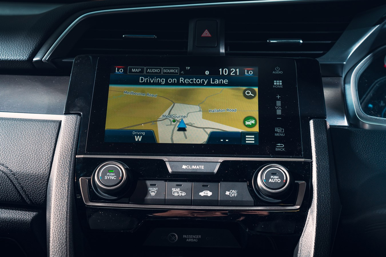 The main infotainment screen may look good, but it's not easy to use