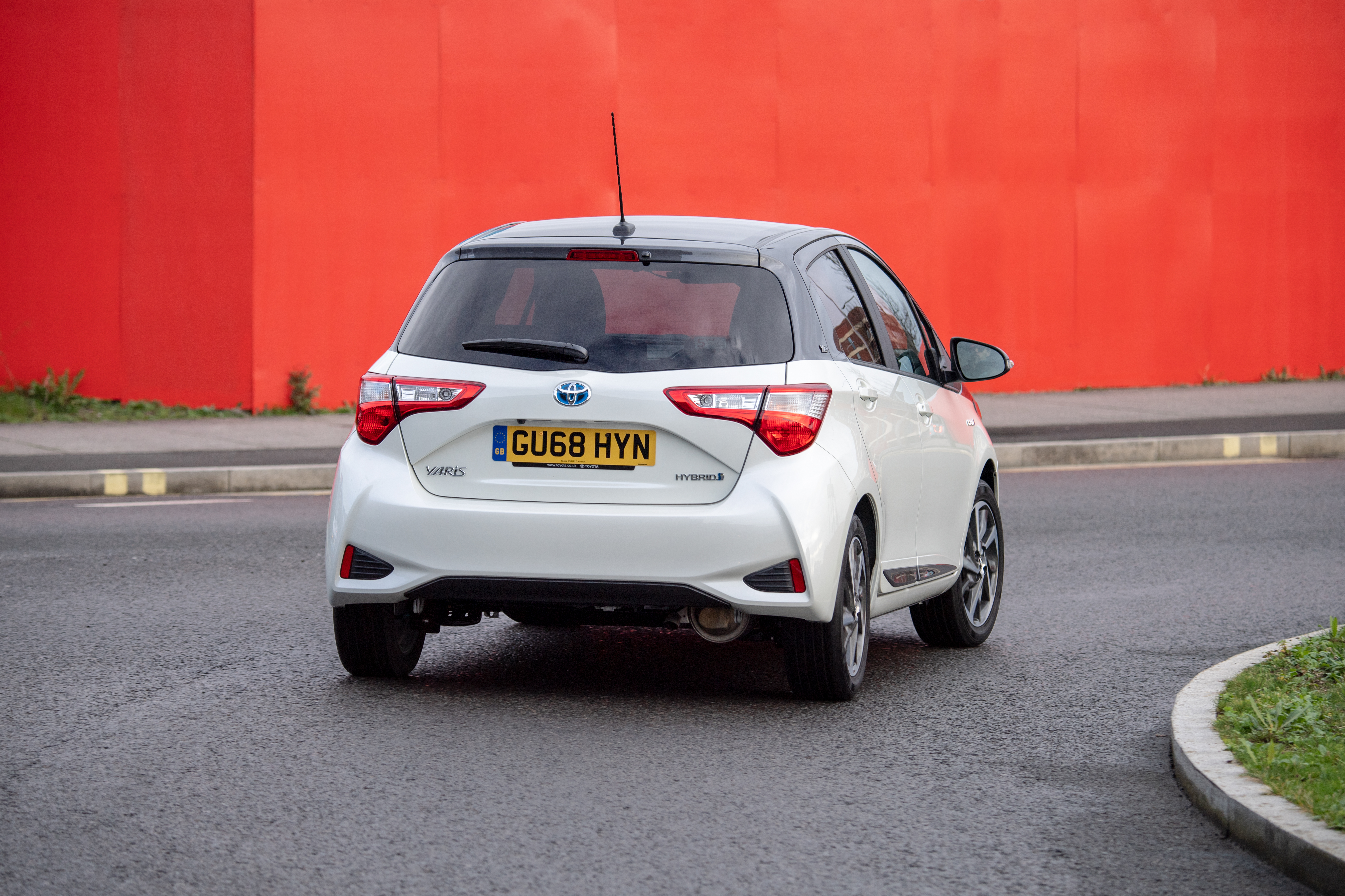 The Y20 remains relatively unchanged over the standard Yaris at the rear